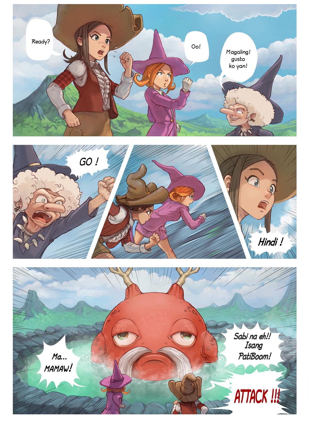 Episode 16 : Guro ng Tuktok-Bundok, Page 5