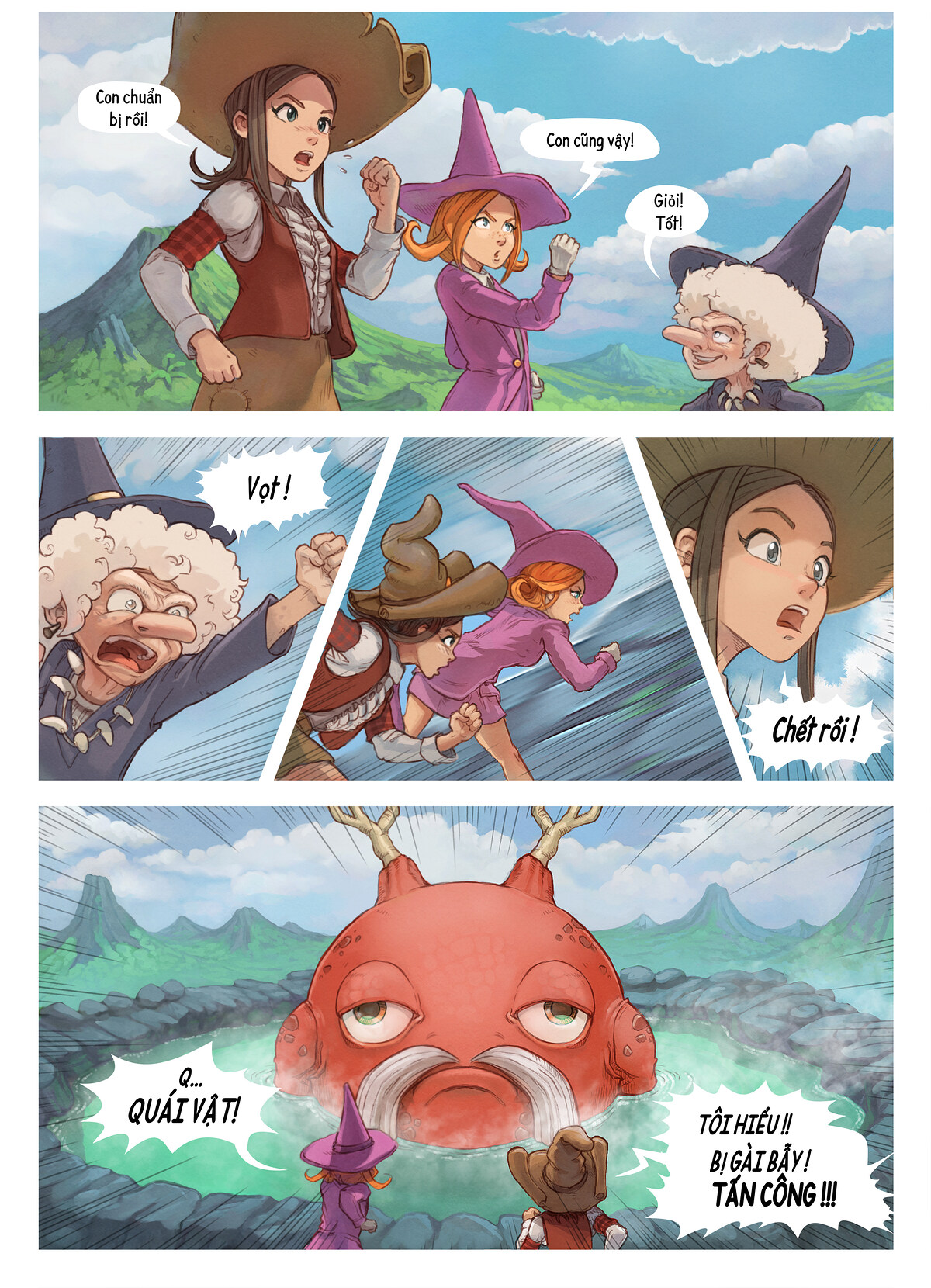 A webcomic page of Pepper&Carrot, Tập 16 [vi], trang 5