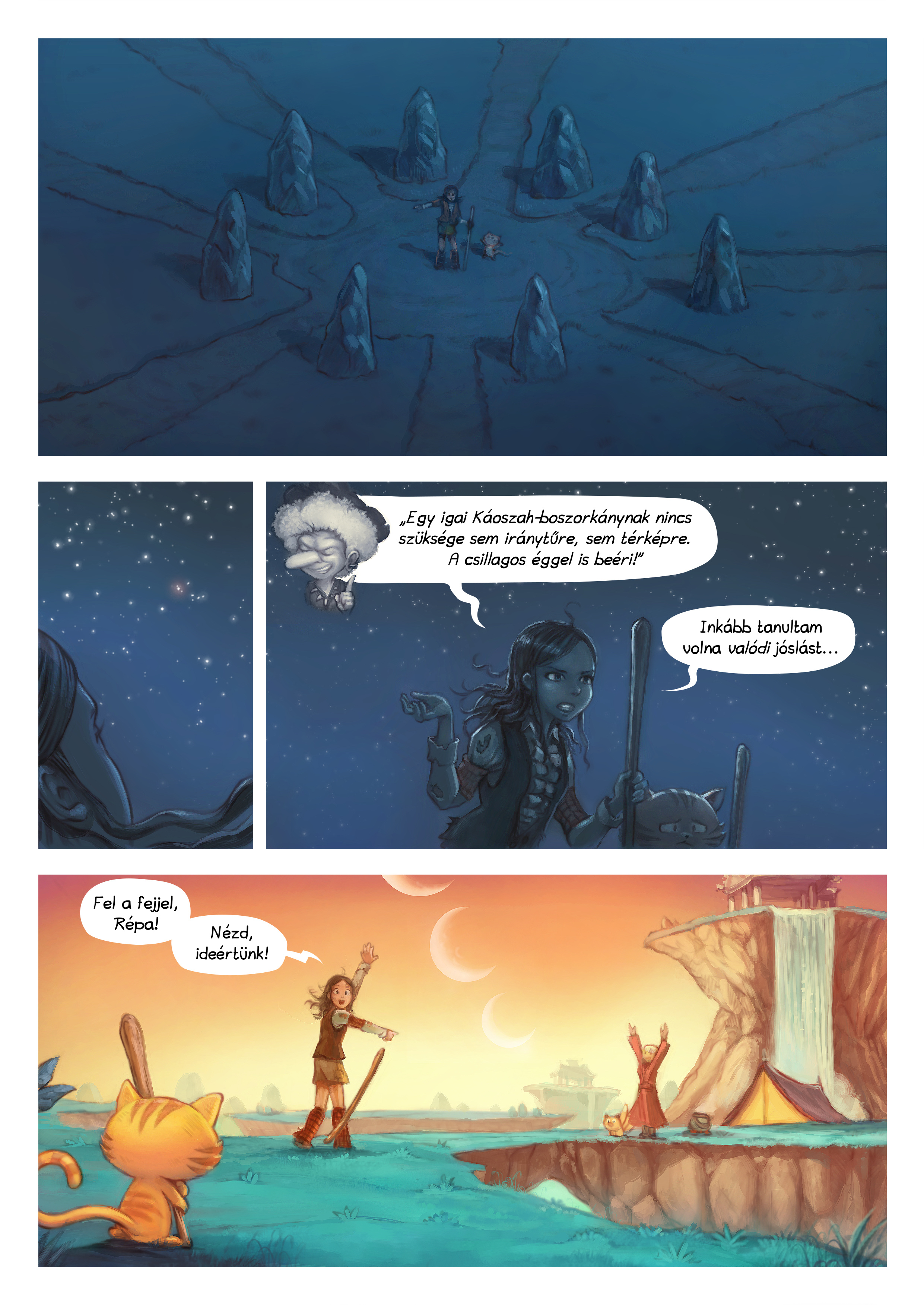 A webcomic page of Pepper&Carrot, epizód 17 [hu], oldal 6