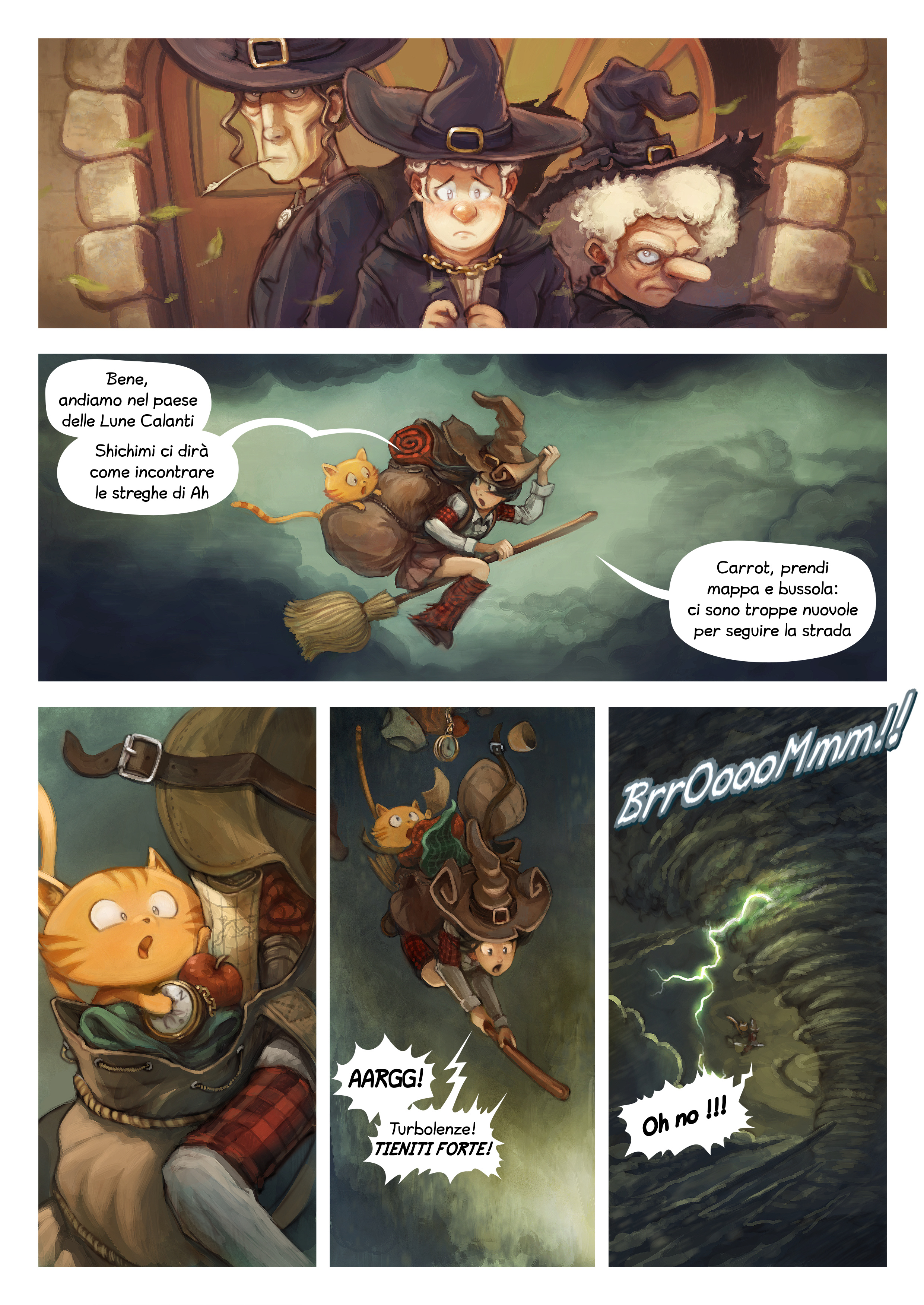 A webcomic page of Pepper&Carrot, episodio 17 [it], pagina 2