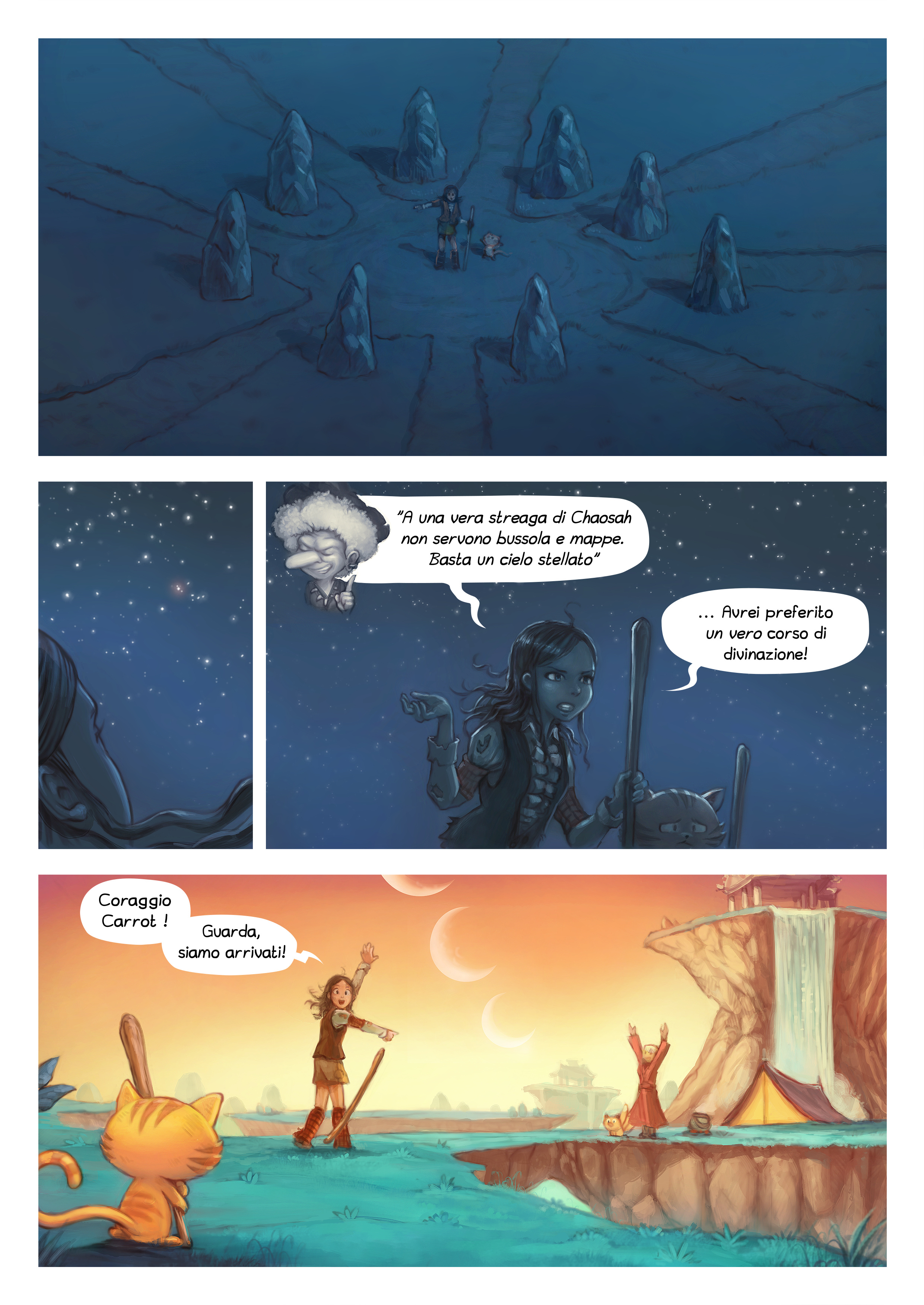 A webcomic page of Pepper&Carrot, episodio 17 [it], pagina 6