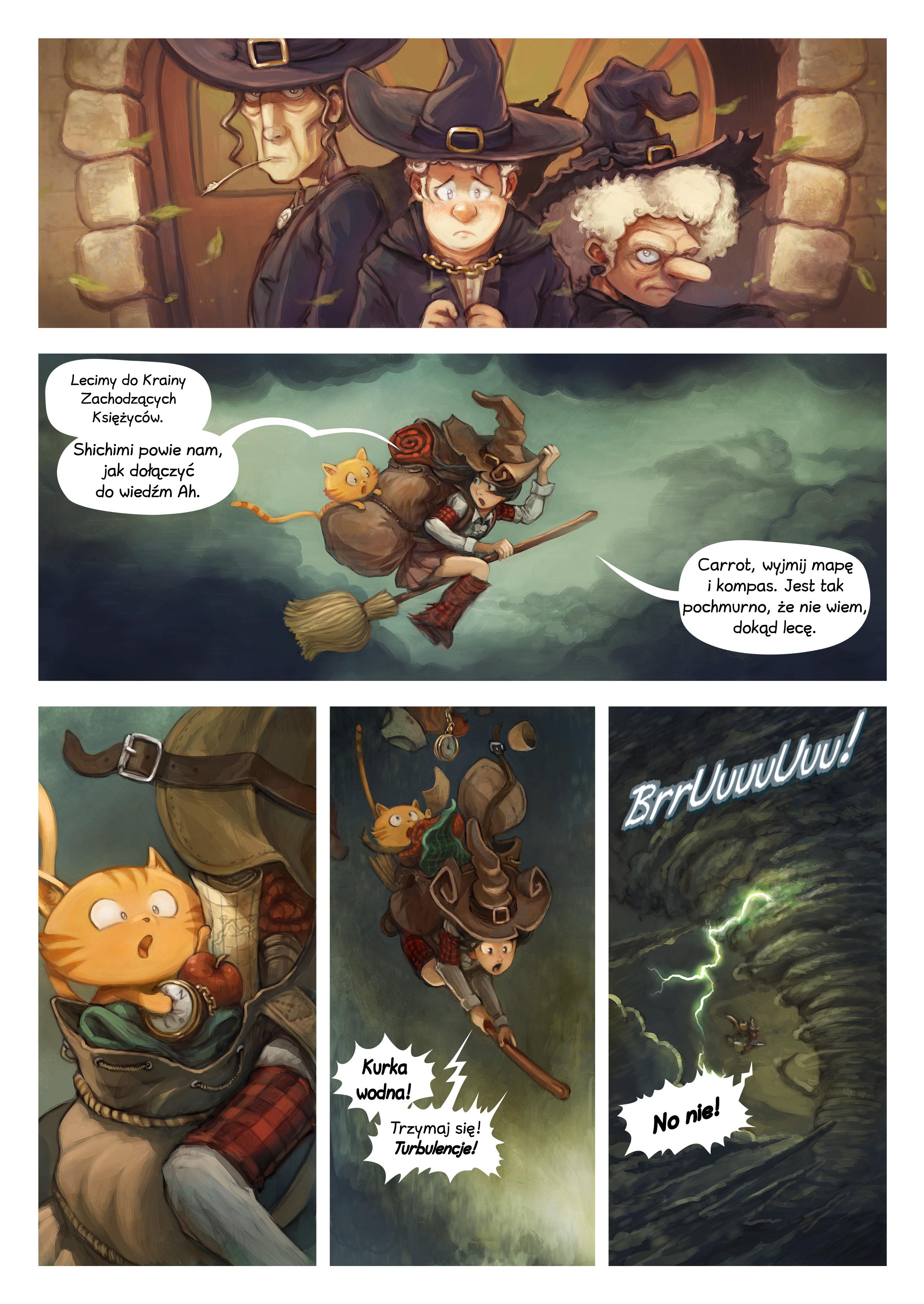 A webcomic page of Pepper&Carrot, odcinek 17 [pl], strona 2
