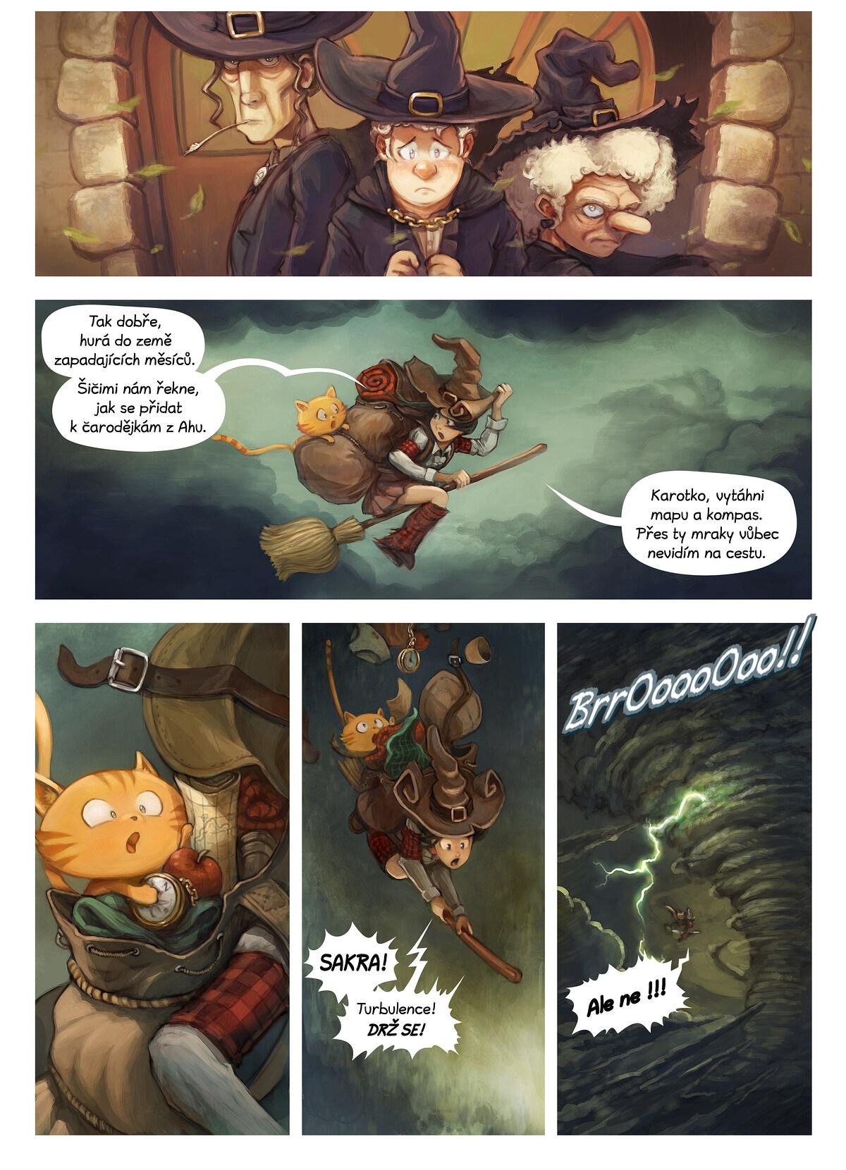 A webcomic page of Pepper&Carrot, epizoda 17 [cs], strana 2
