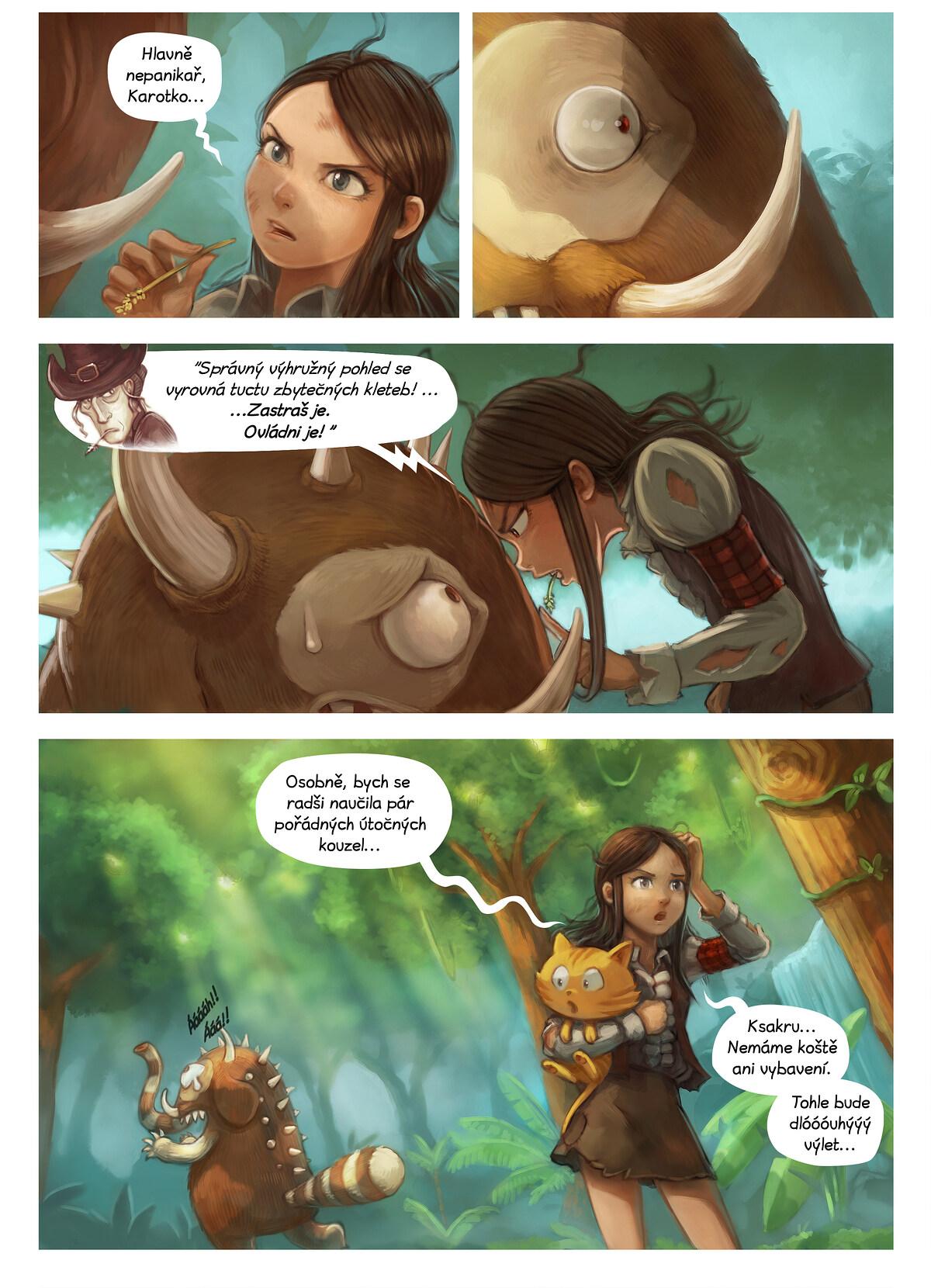 A webcomic page of Pepper&Carrot, epizoda 17 [cs], strana 4