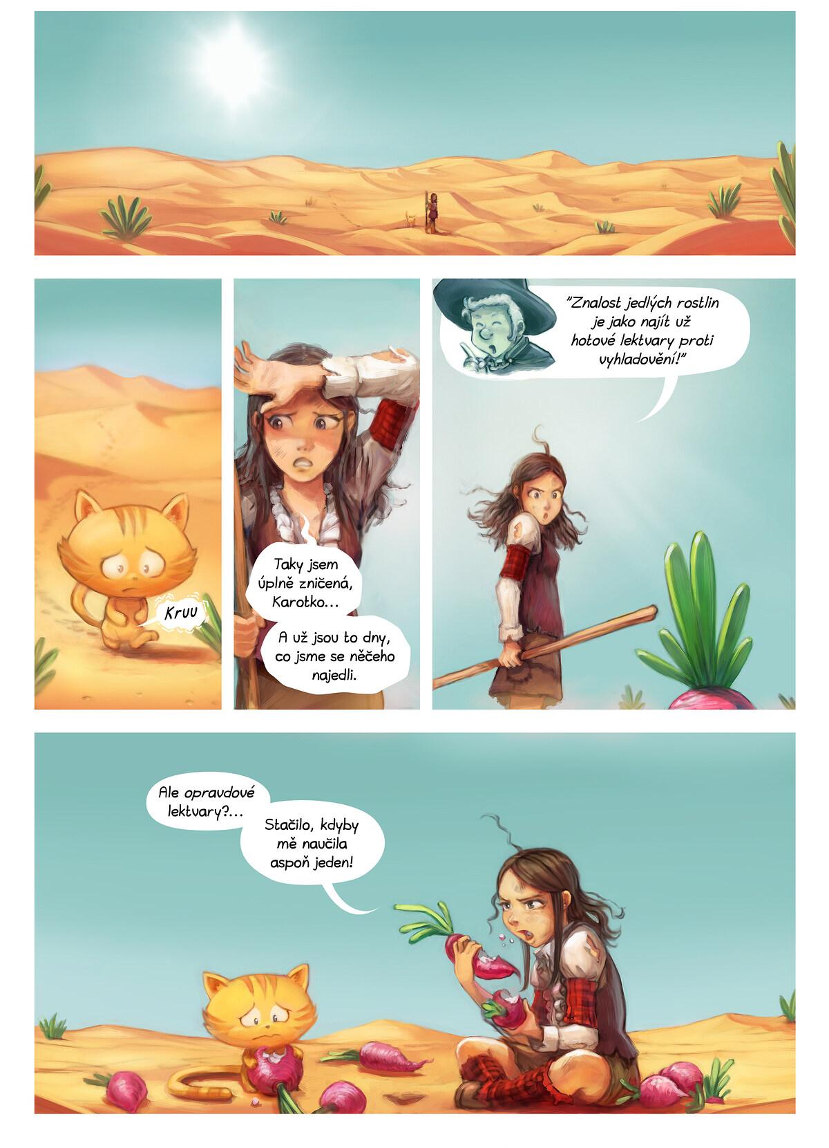A webcomic page of Pepper&Carrot, epizoda 17 [cs], strana 5