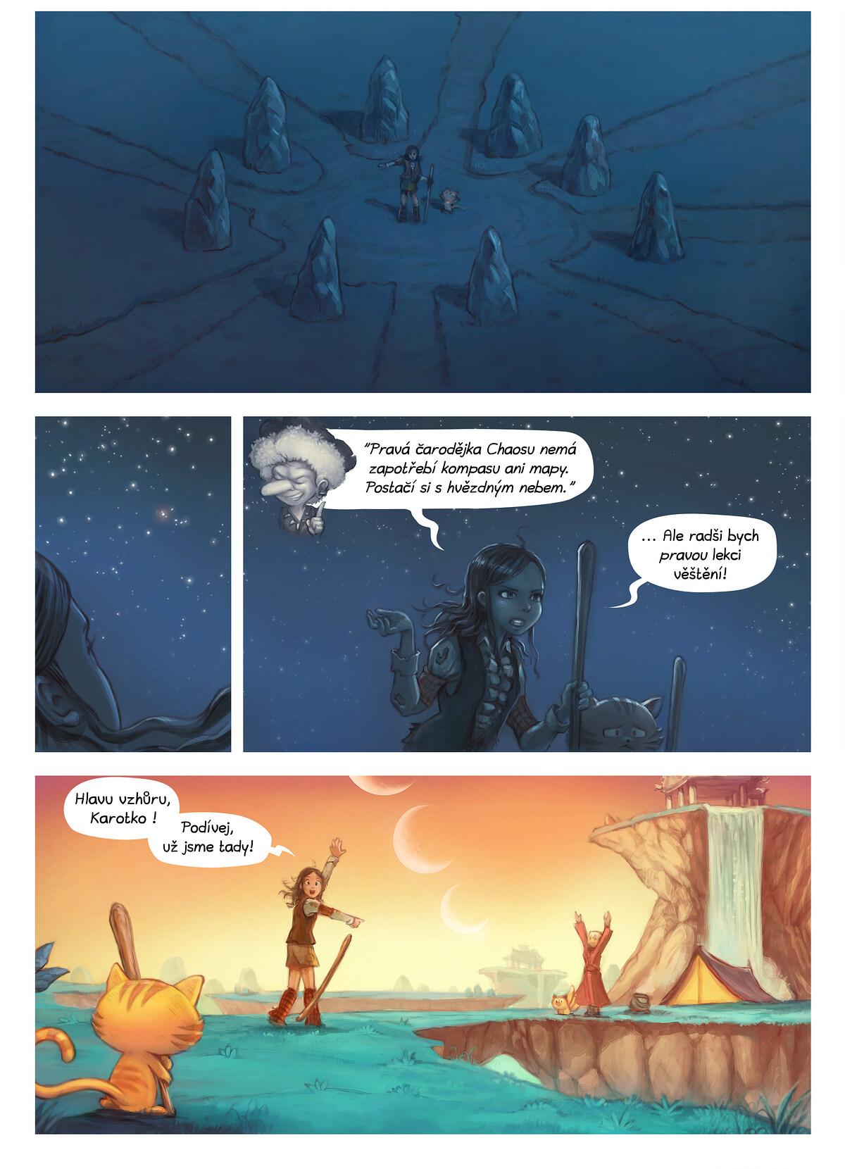 A webcomic page of Pepper&Carrot, epizoda 17 [cs], strana 6