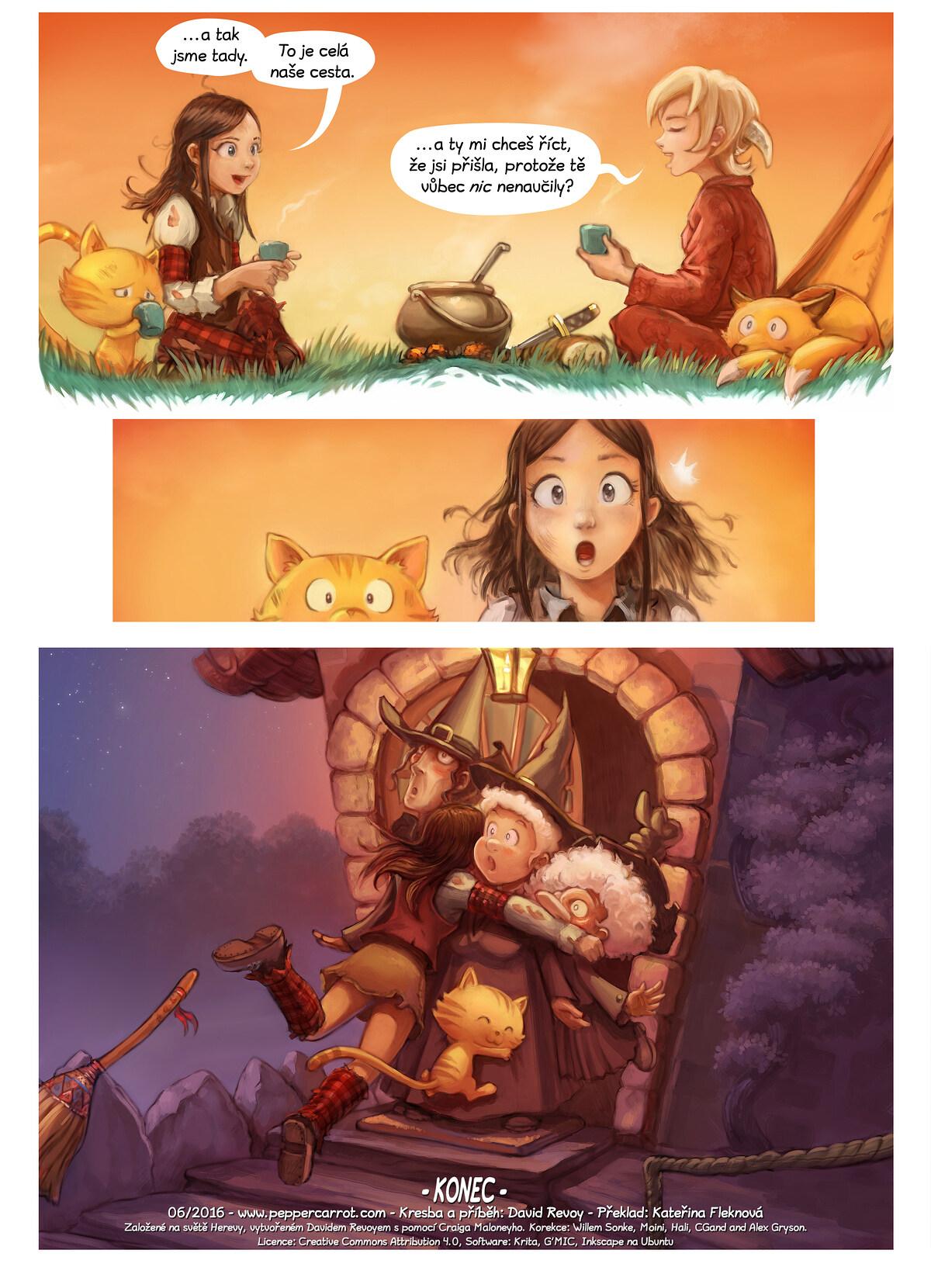 A webcomic page of Pepper&Carrot, epizoda 17 [cs], strana 7