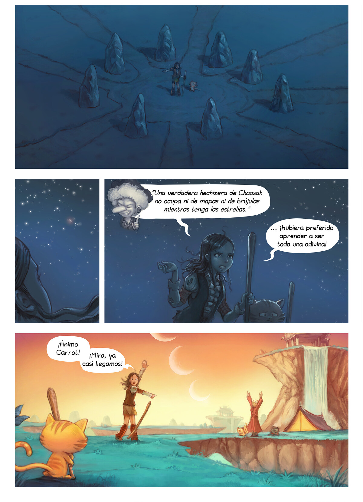 A webcomic page of Pepper&Carrot, episode 17 [mx], page 6