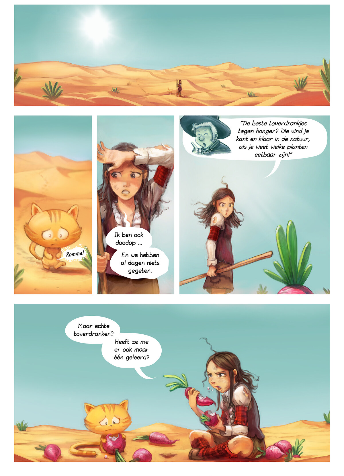A webcomic page of Pepper&Carrot, aflevering 17 [nl], pagina 5