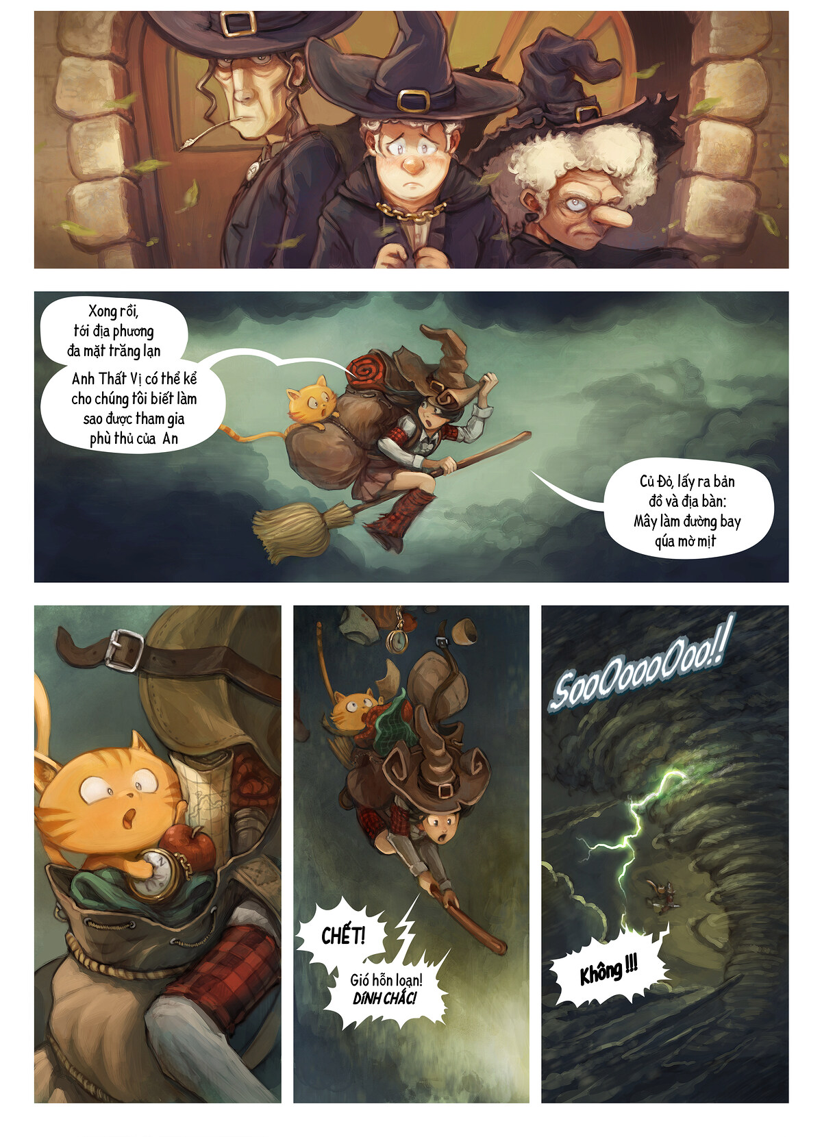 A webcomic page of Pepper&Carrot, Tập 17 [vi], trang 2