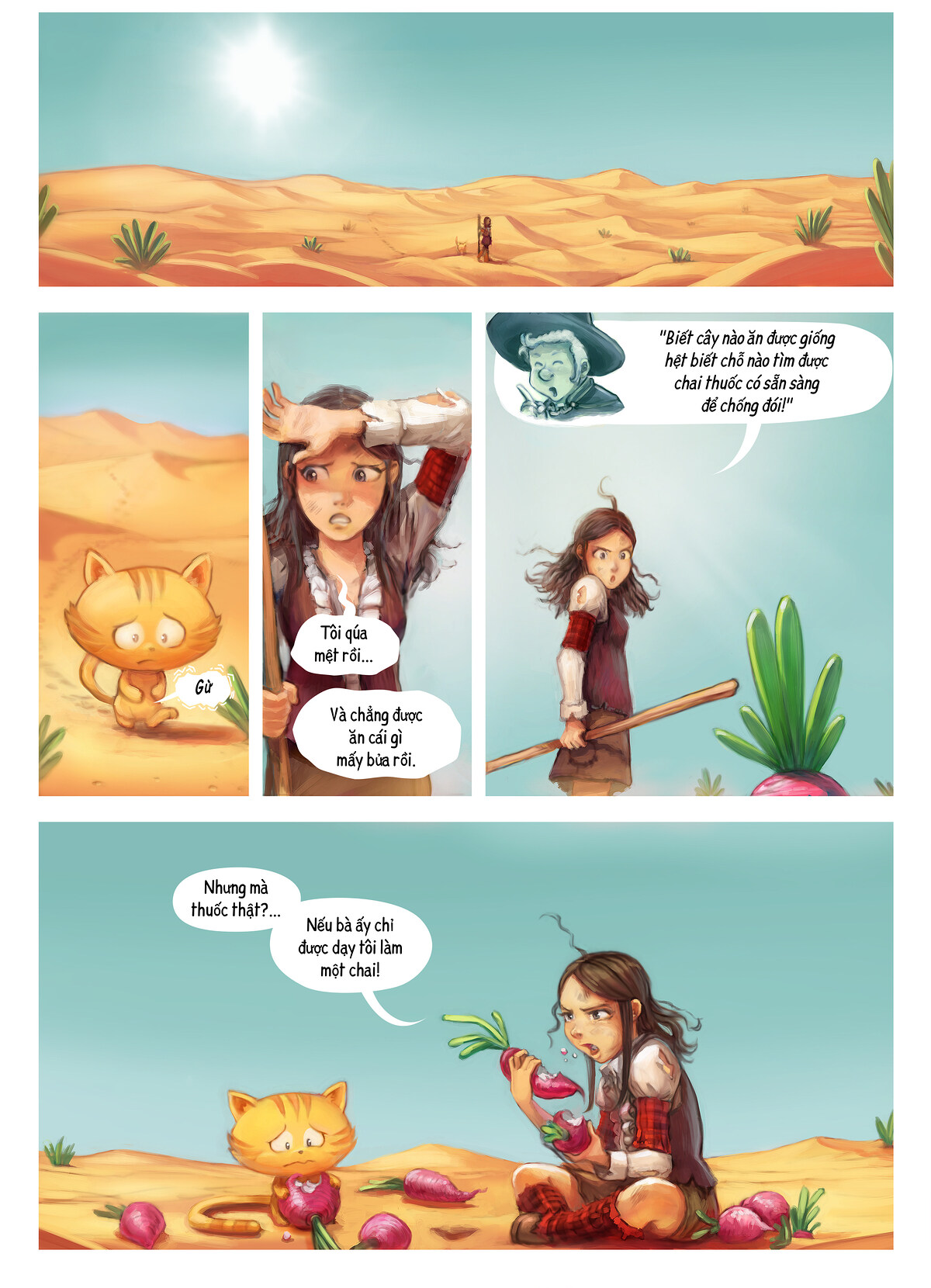 A webcomic page of Pepper&Carrot, Tập 17 [vi], trang 5
