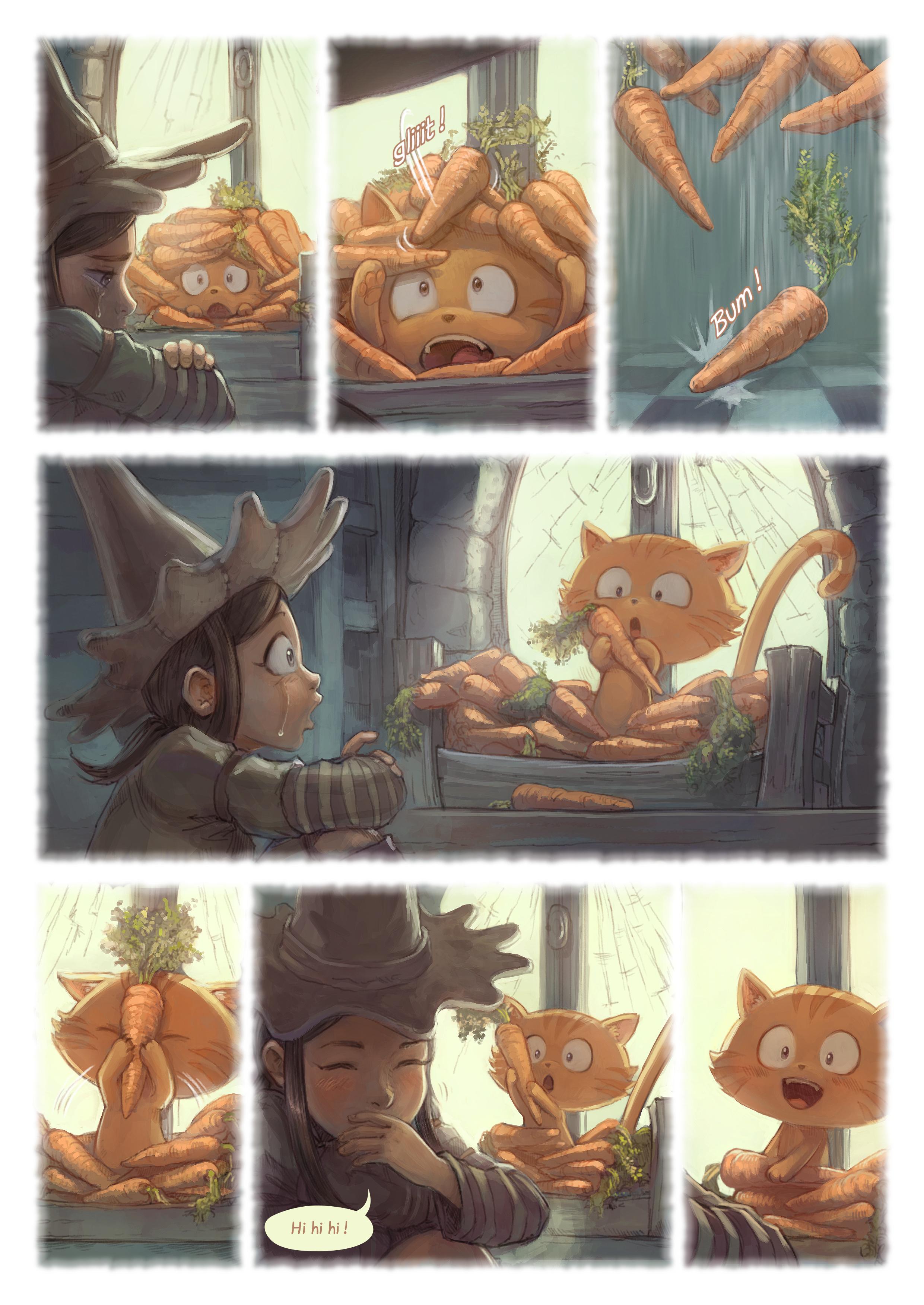 A webcomic page of Pepper&Carrot, rakonto 18 [eo], paĝo 6