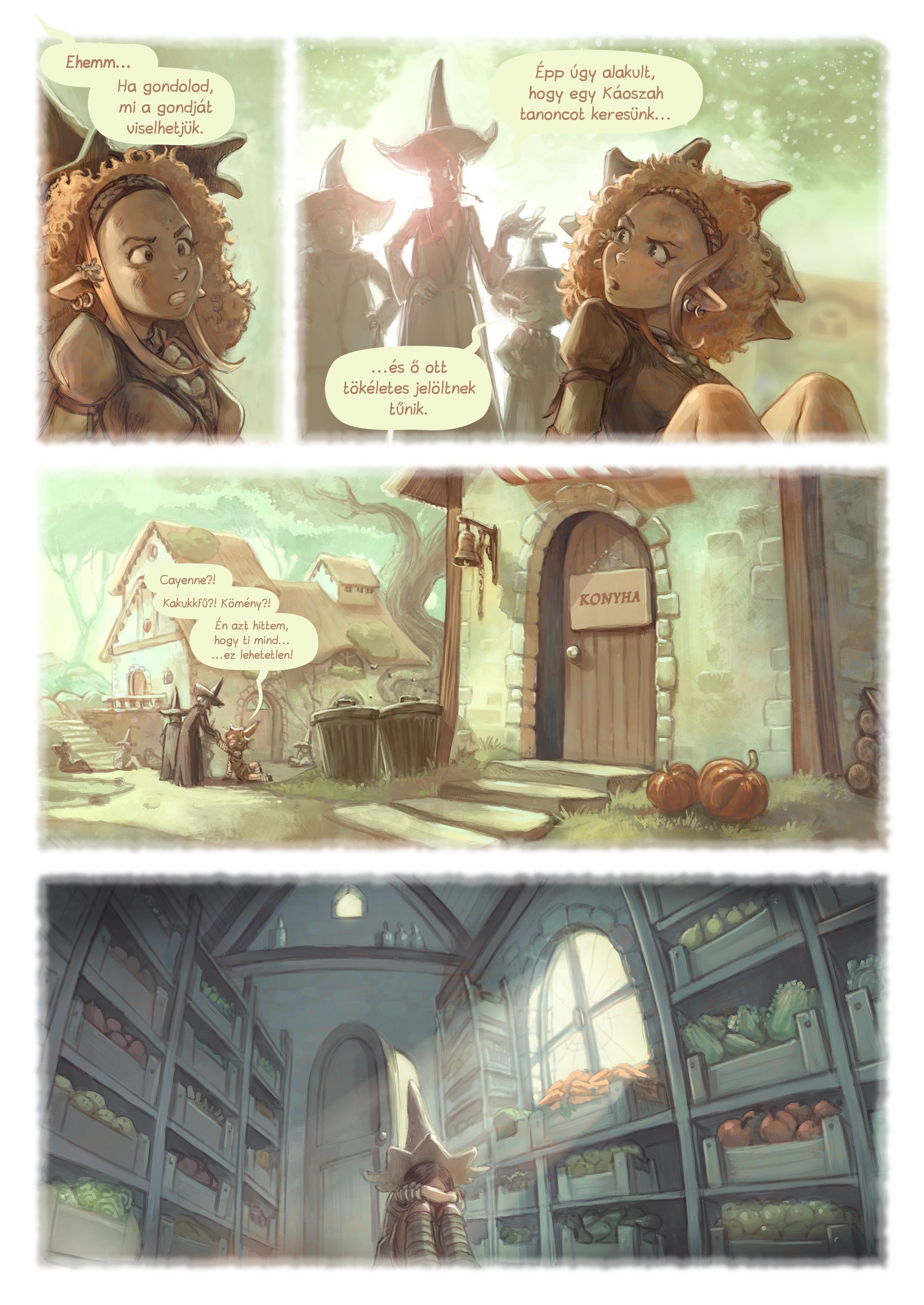 A webcomic page of Pepper&Carrot, epizód 18 [hu], oldal 5