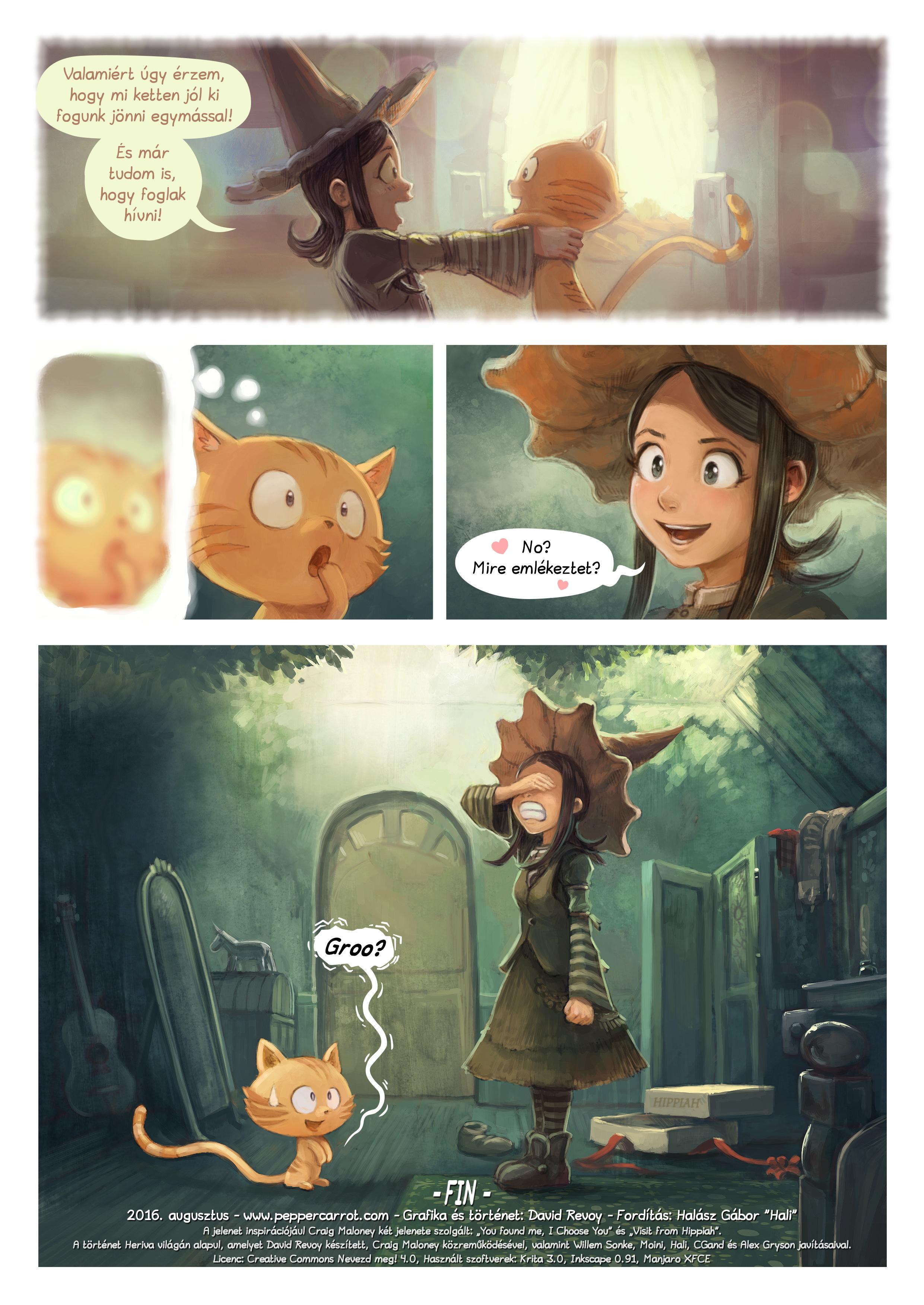 A webcomic page of Pepper&Carrot, epizód 18 [hu], oldal 7