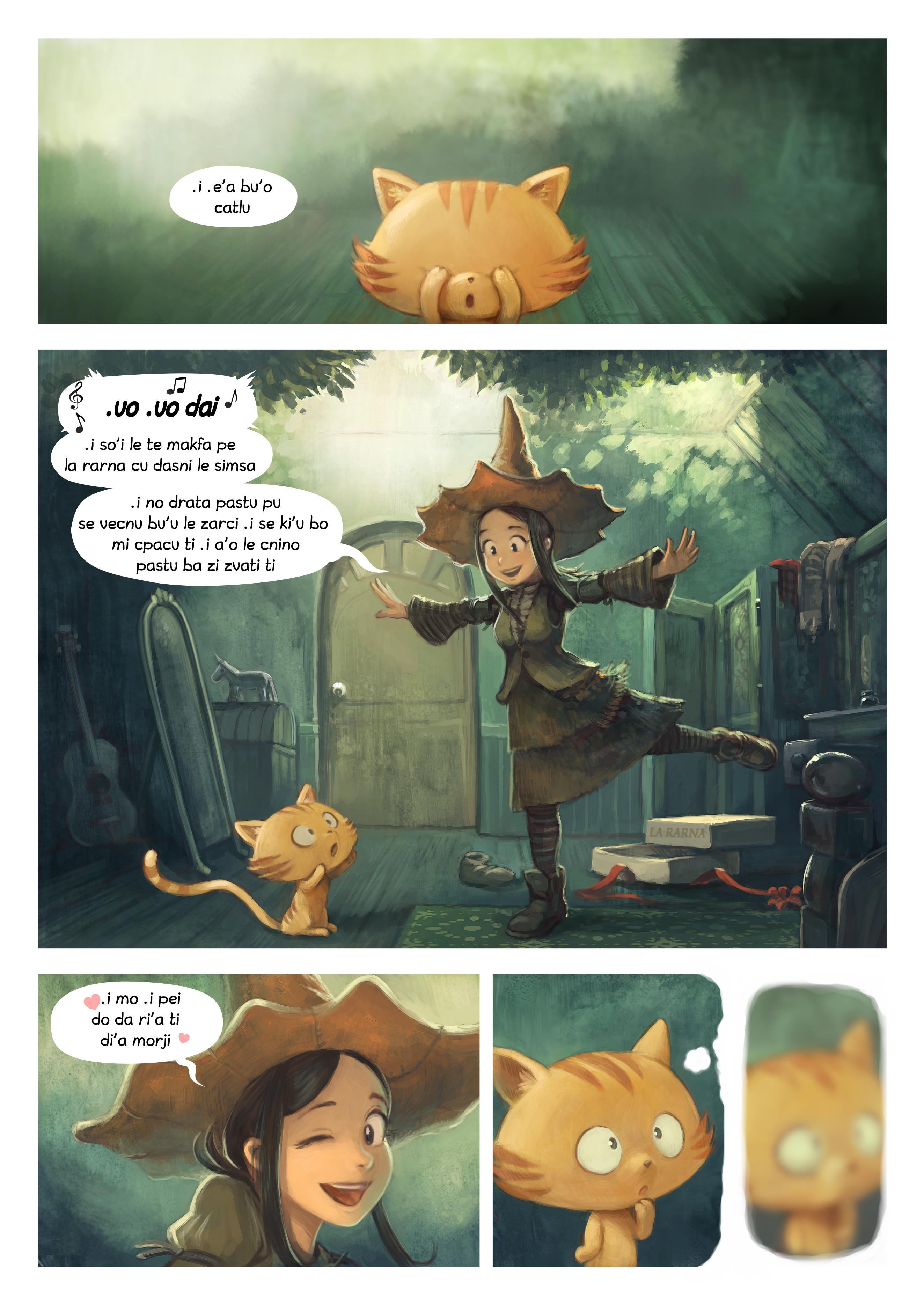 i 18 mo'o lisri le nu penmi, Page 1