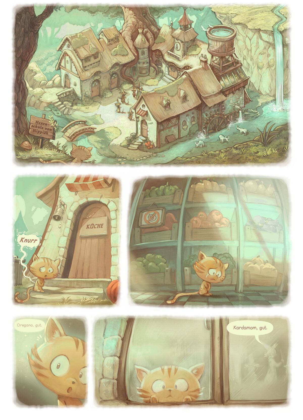 A webcomic page of Pepper&Carrot, Episode 18 [de], Seite 2