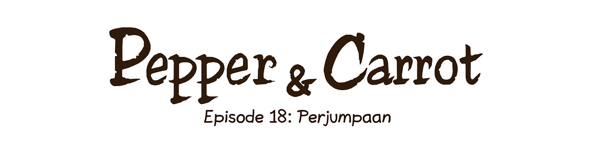A webcomic page of Pepper&Carrot, episode 18 [id], halaman 0