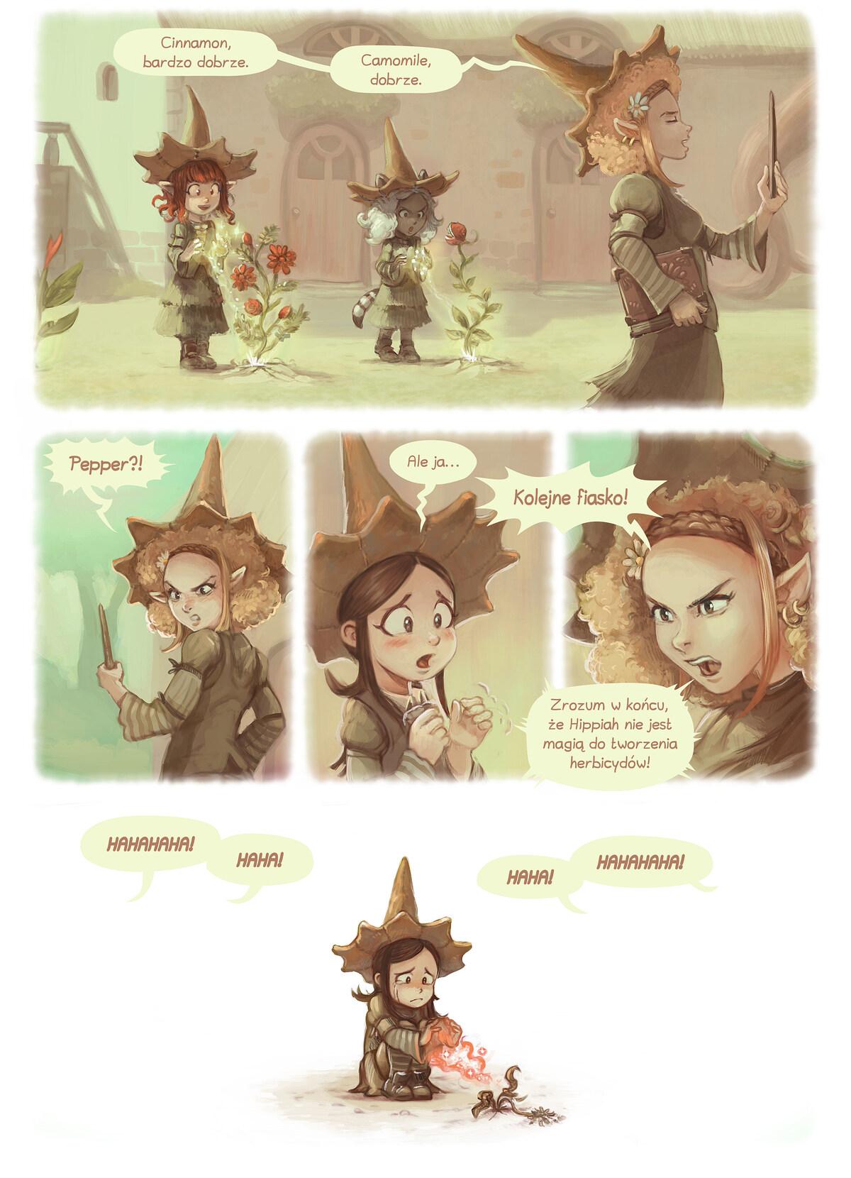 A webcomic page of Pepper&Carrot, odcinek 18 [pl], strona 3