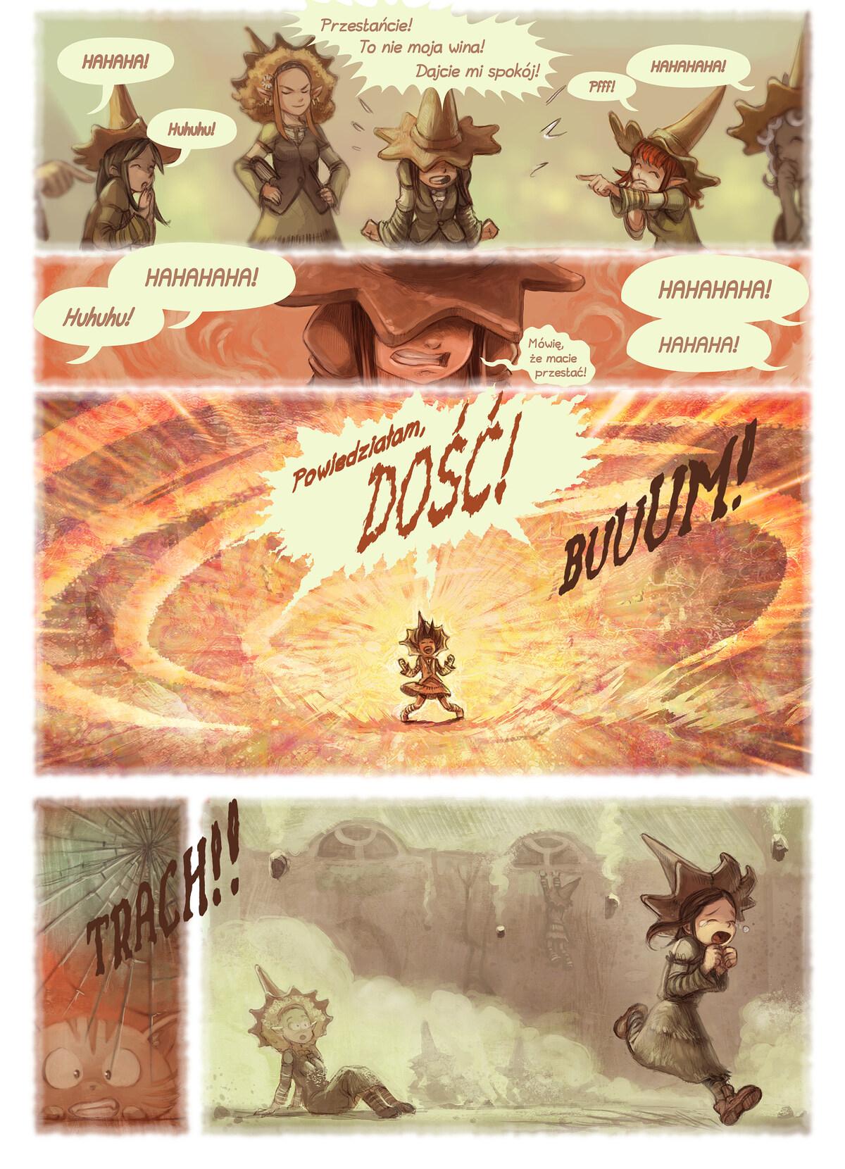 A webcomic page of Pepper&Carrot, odcinek 18 [pl], strona 4