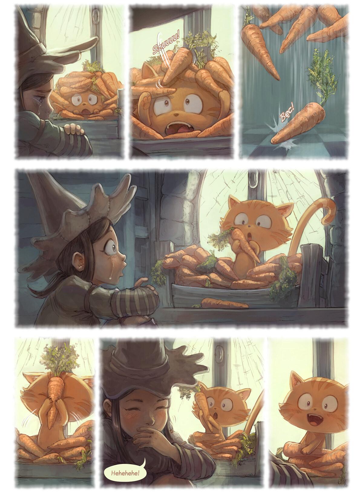 A webcomic page of Pepper&Carrot, odcinek 18 [pl], strona 6