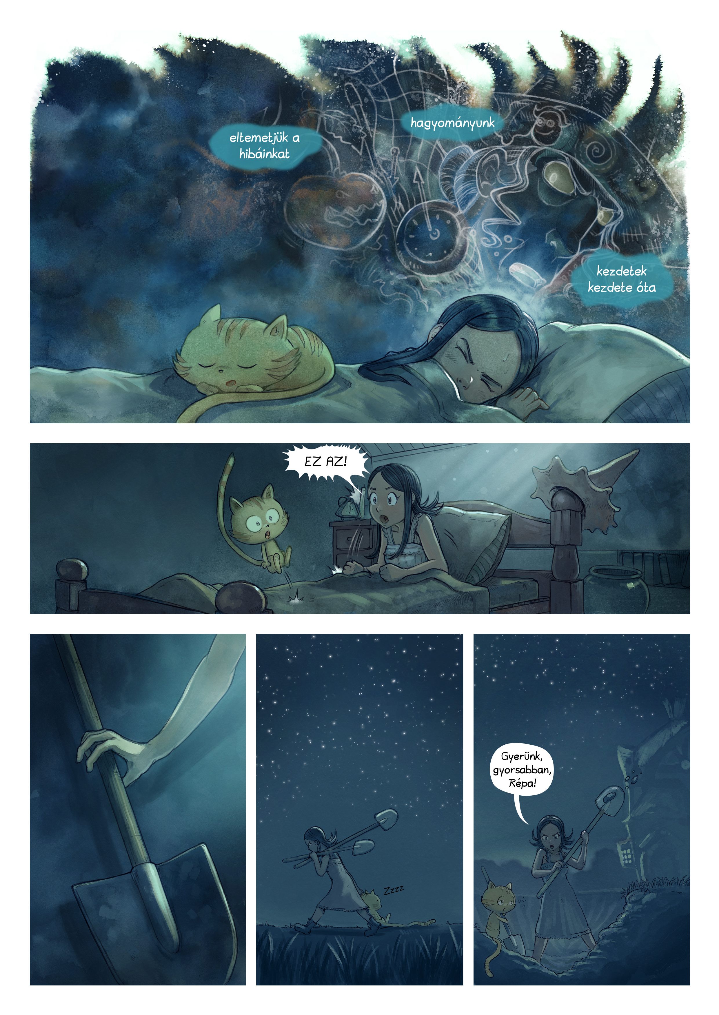 A webcomic page of Pepper&Carrot, epizód 19 [hu], oldal 3