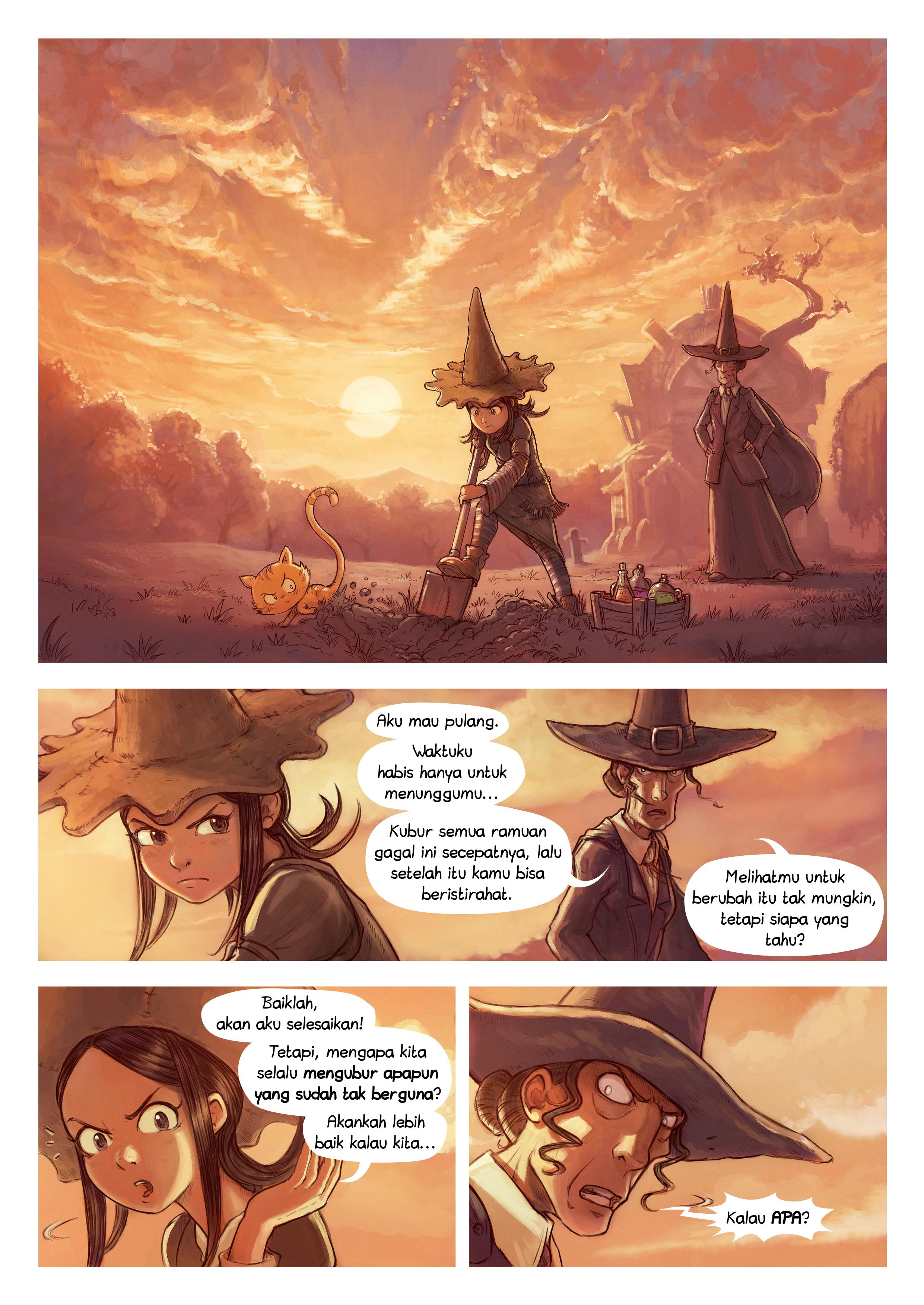 Episode 19: Lingkungan, Page 1