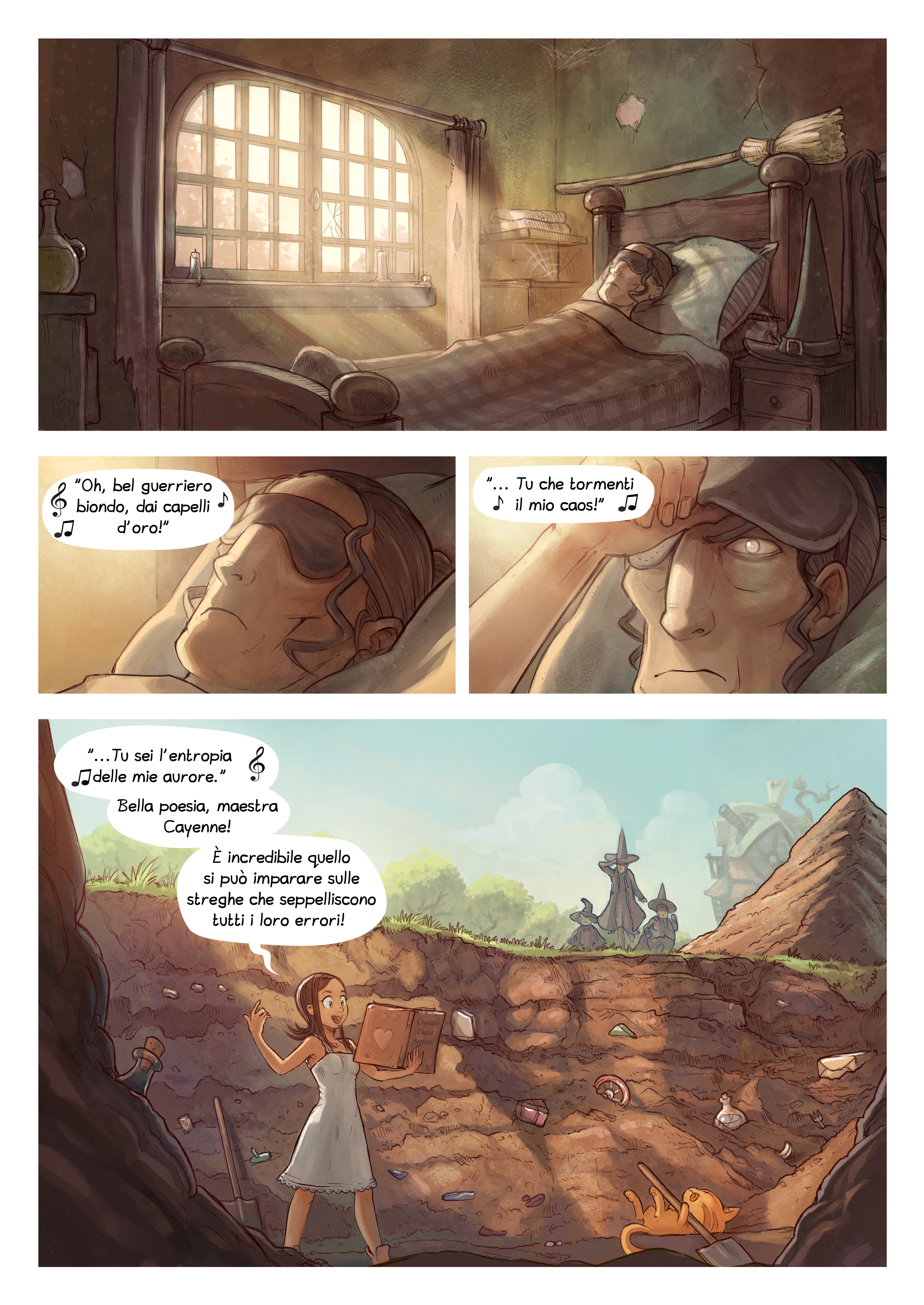 A webcomic page of Pepper&Carrot, episodio 19 [it], pagina 4