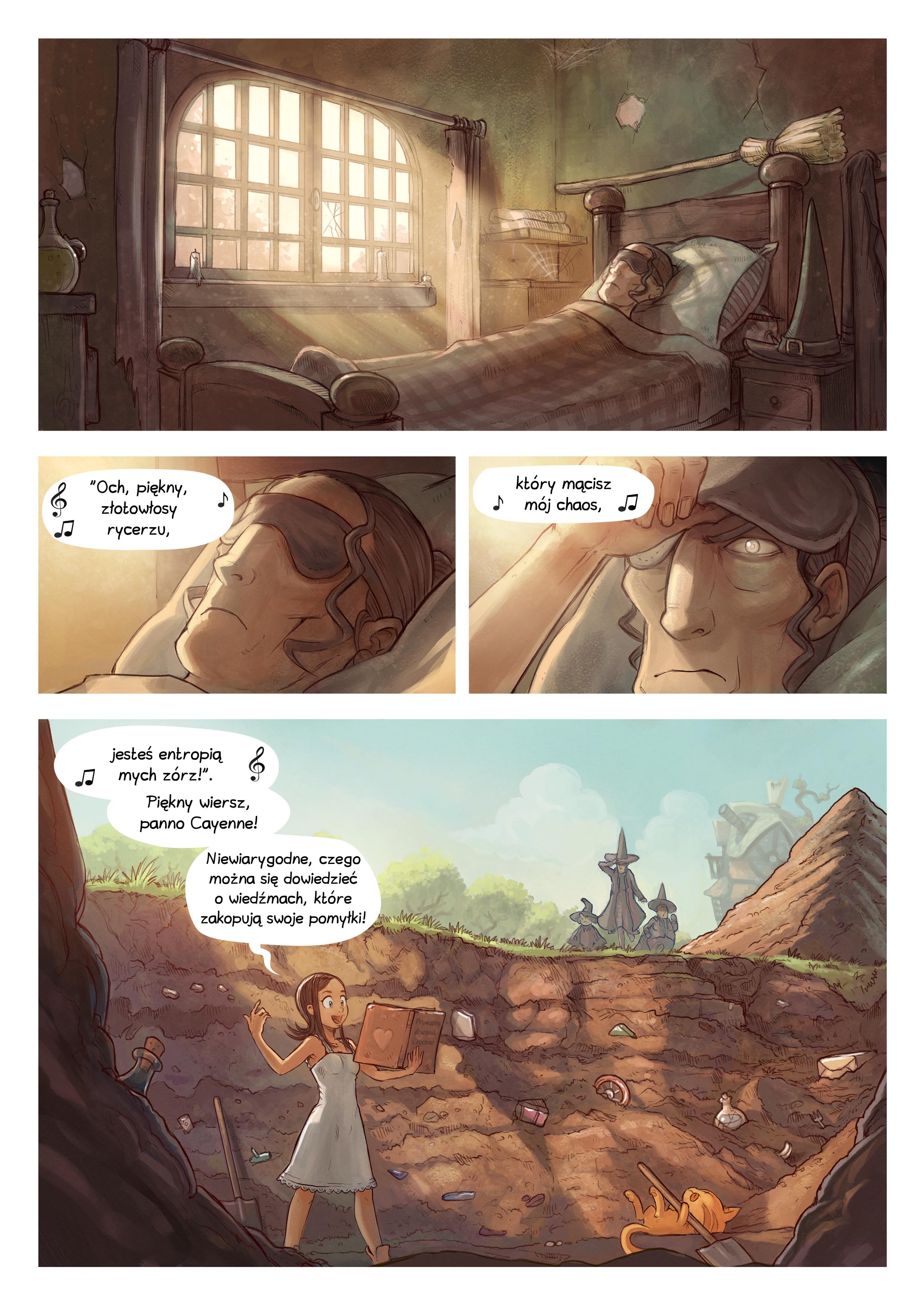 A webcomic page of Pepper&Carrot, odcinek 19 [pl], strona 4