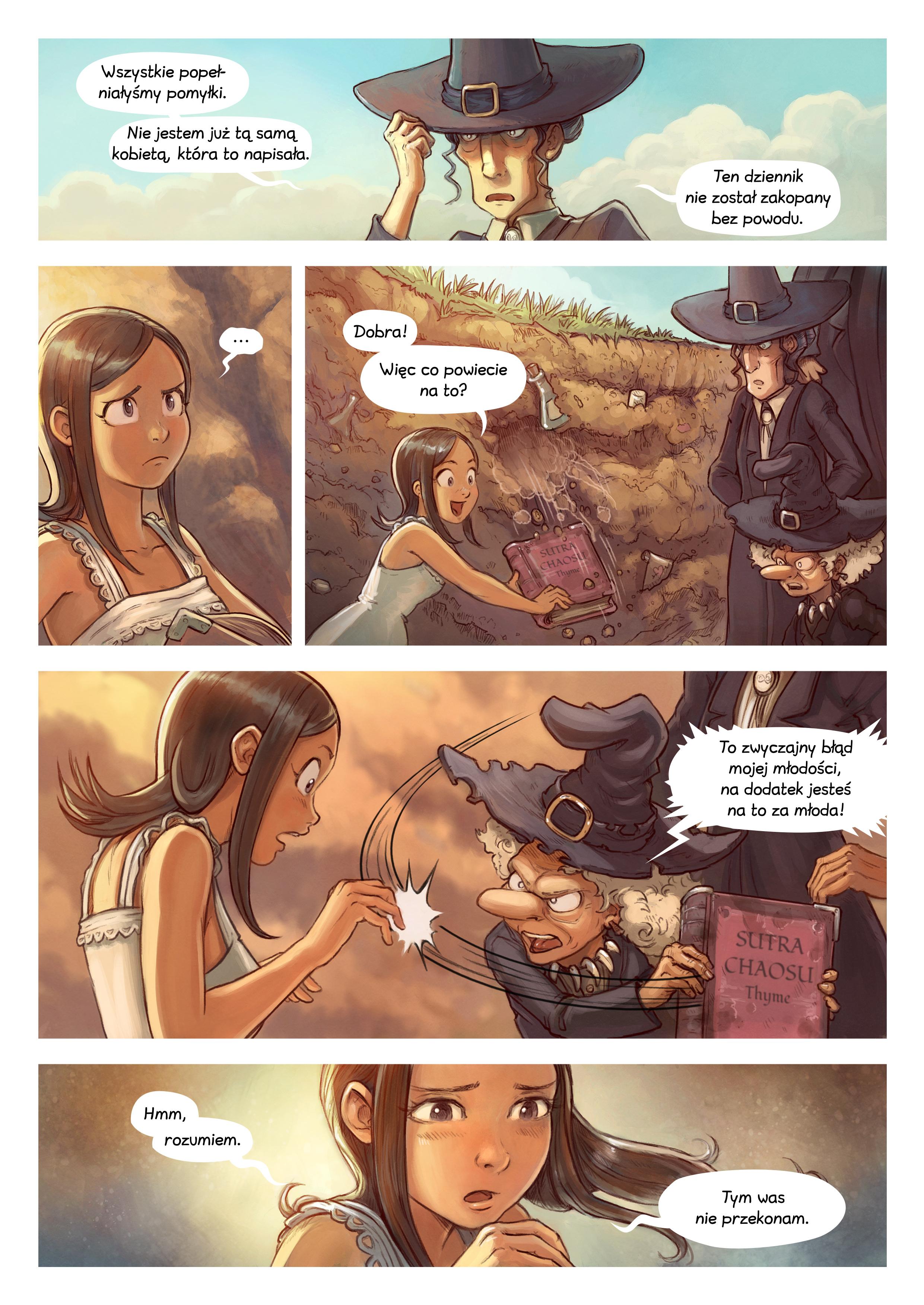 A webcomic page of Pepper&Carrot, odcinek 19 [pl], strona 5