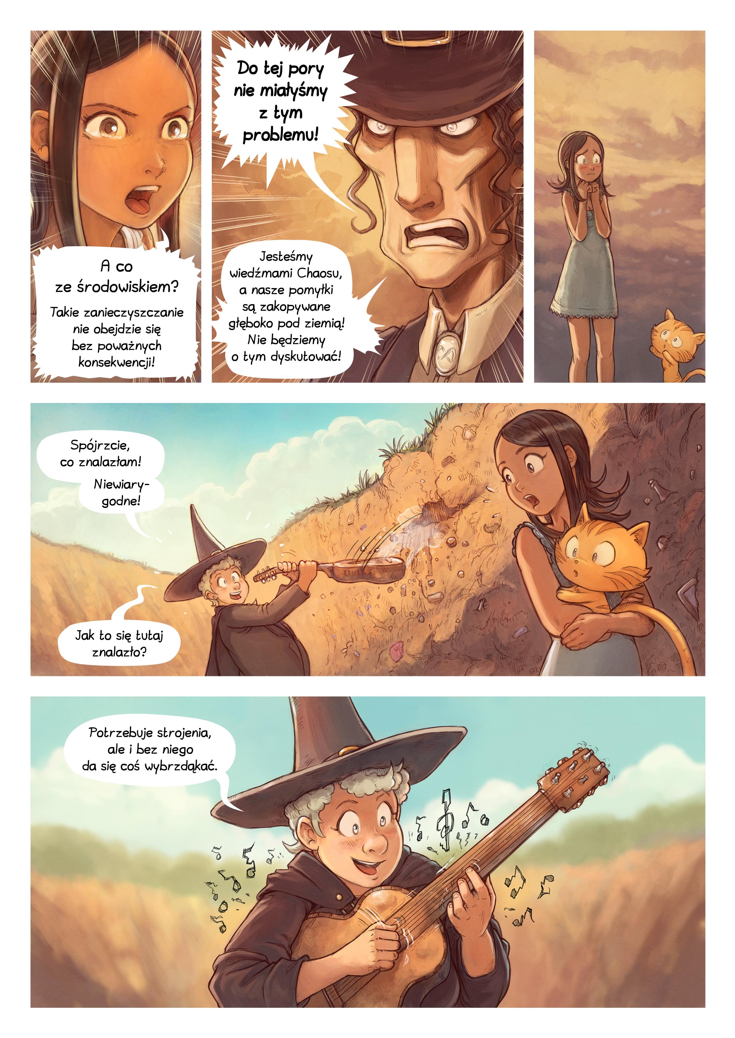 A webcomic page of Pepper&Carrot, odcinek 19 [pl], strona 6