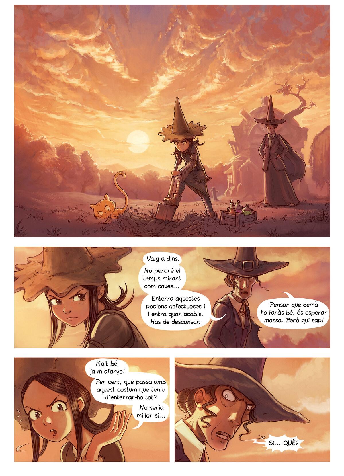 A webcomic page of Pepper&Carrot, episodi 19 [ca], pàgina 1