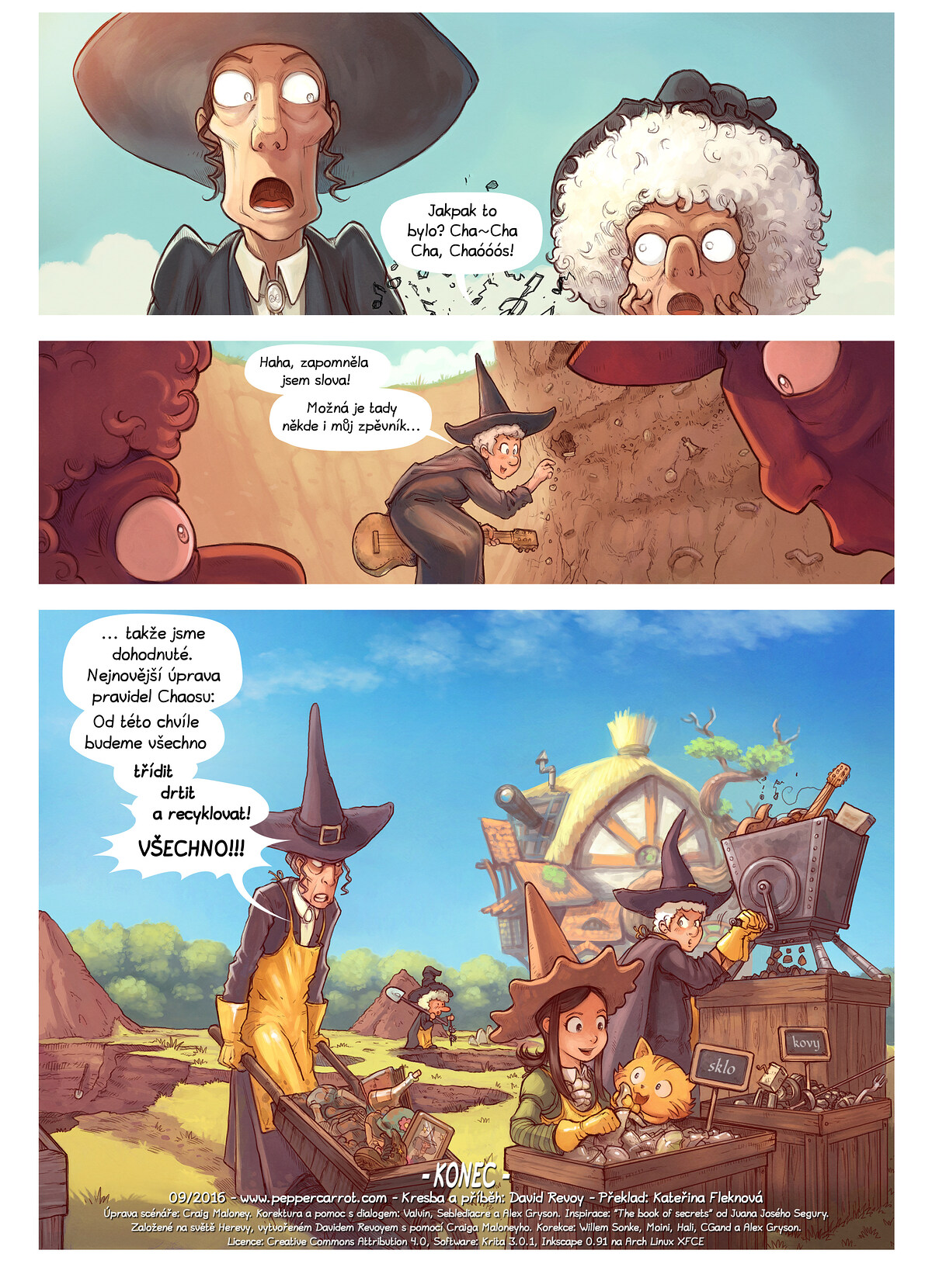 A webcomic page of Pepper&Carrot, epizoda 19 [cs], strana 7