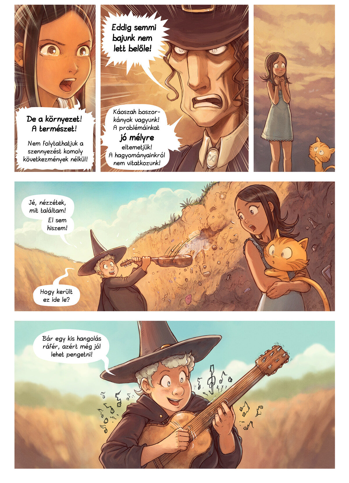 A webcomic page of Pepper&Carrot, epizód 19 [hu], oldal 6