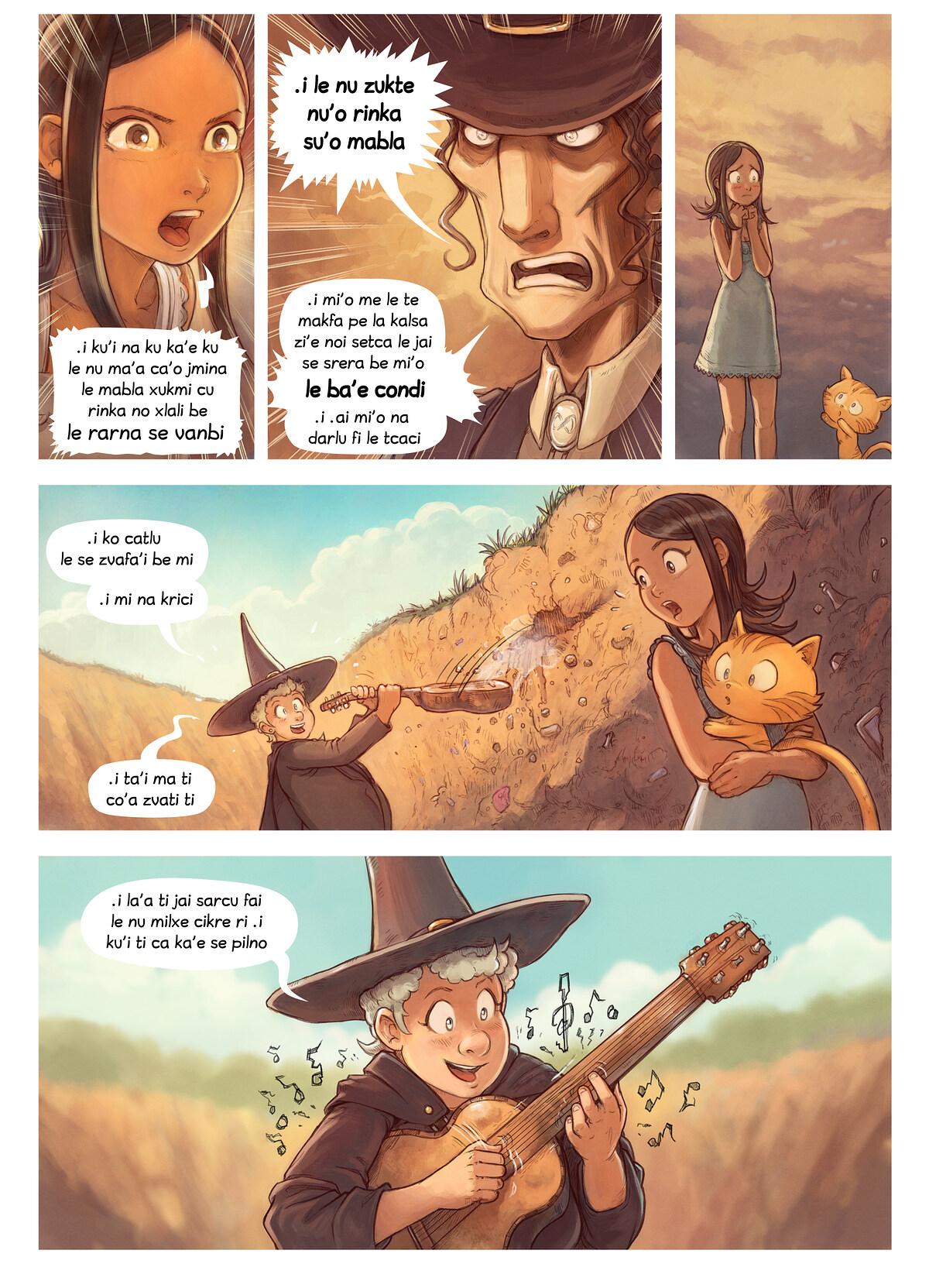 A webcomic page of Pepper&Carrot, pagbu 19 [jb], papri 6