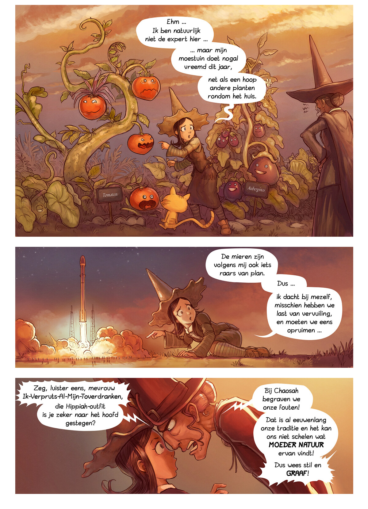 A webcomic page of Pepper&Carrot, aflevering 19 [nl], pagina 2