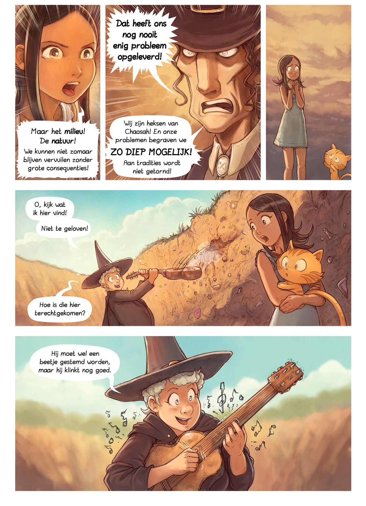 A webcomic page of Pepper&Carrot, aflevering 19 [nl], pagina 6