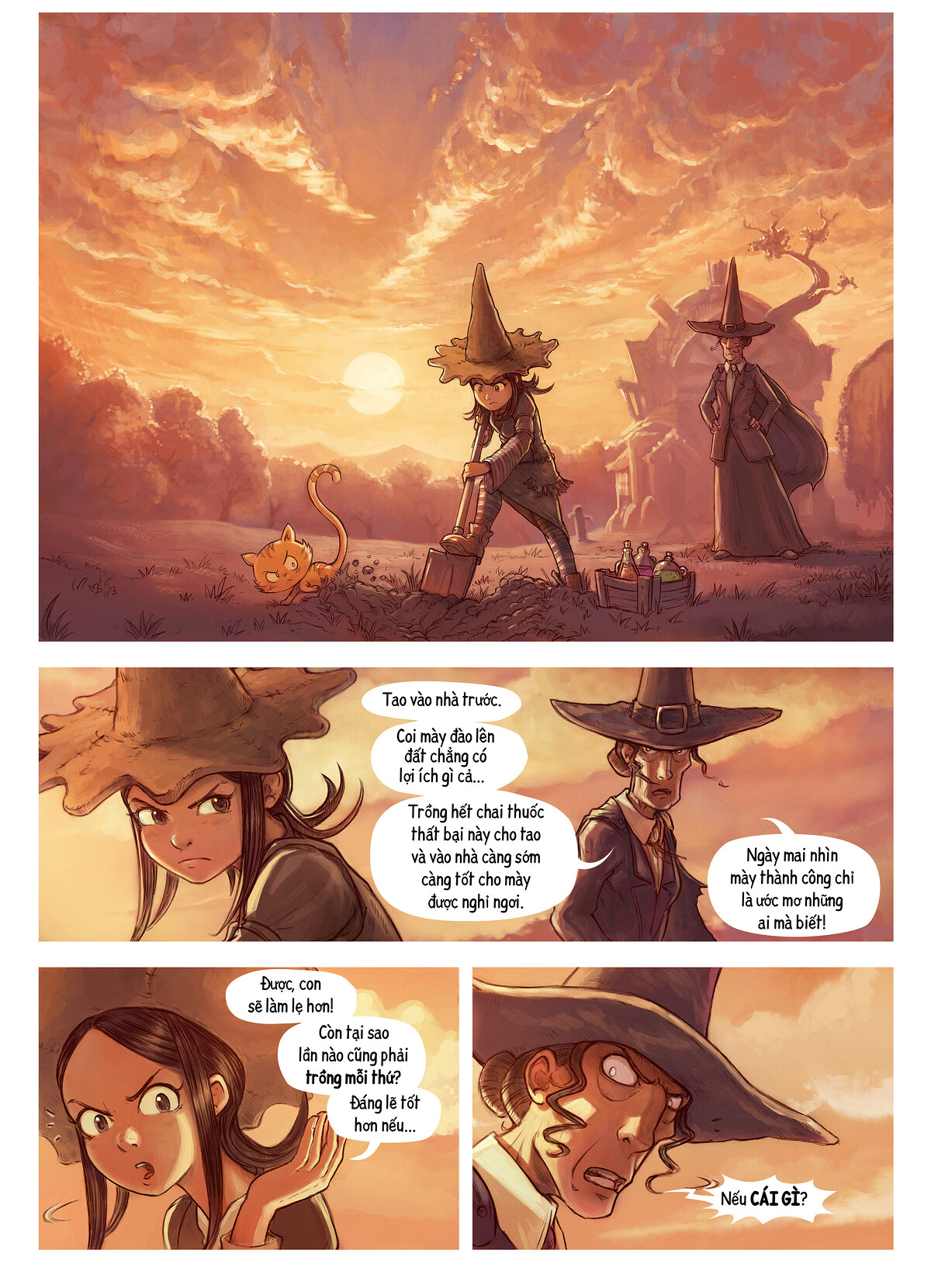 A webcomic page of Pepper&Carrot, Tập 19 [vi], trang 1