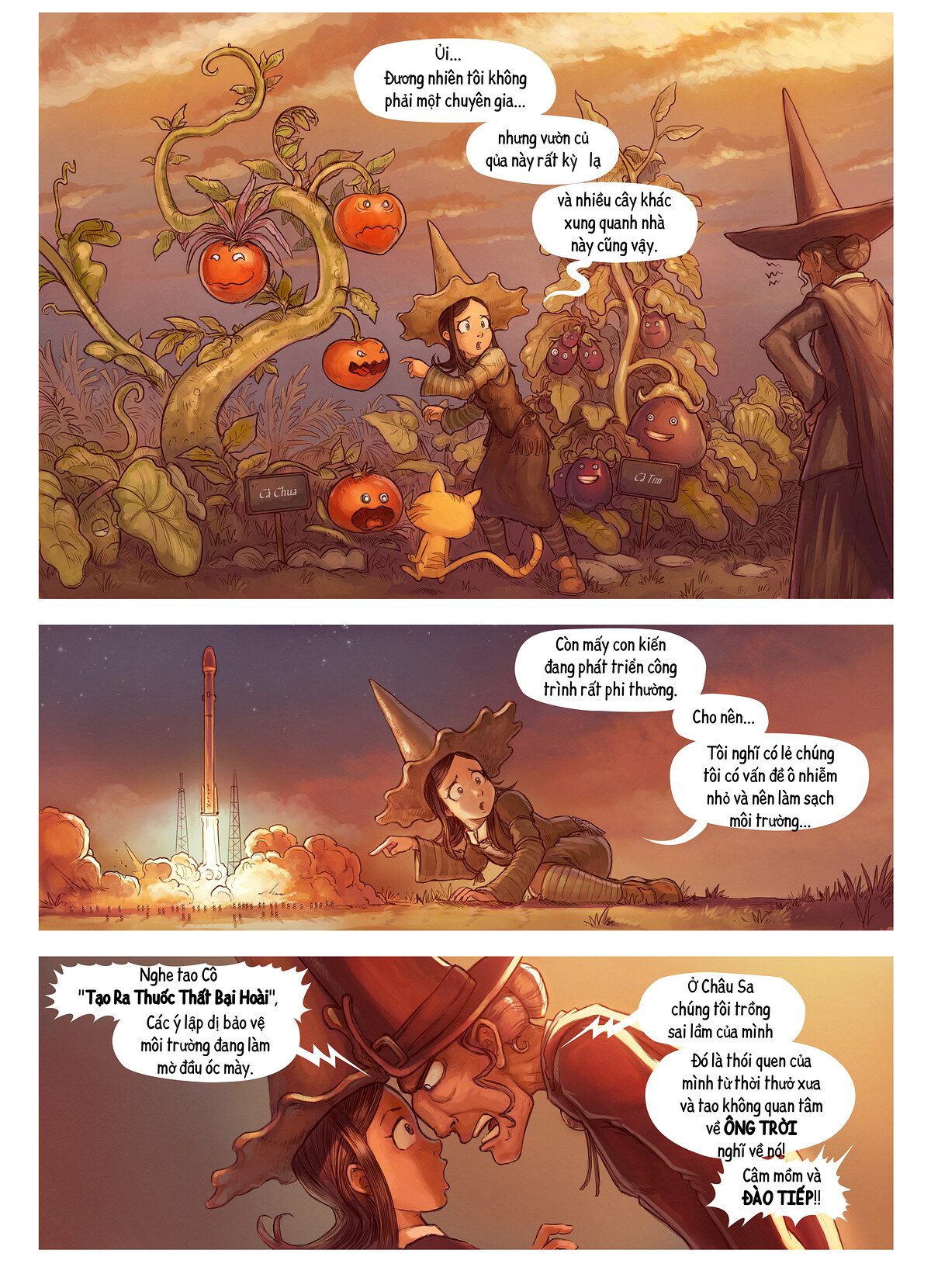 A webcomic page of Pepper&Carrot, Tập 19 [vi], trang 2