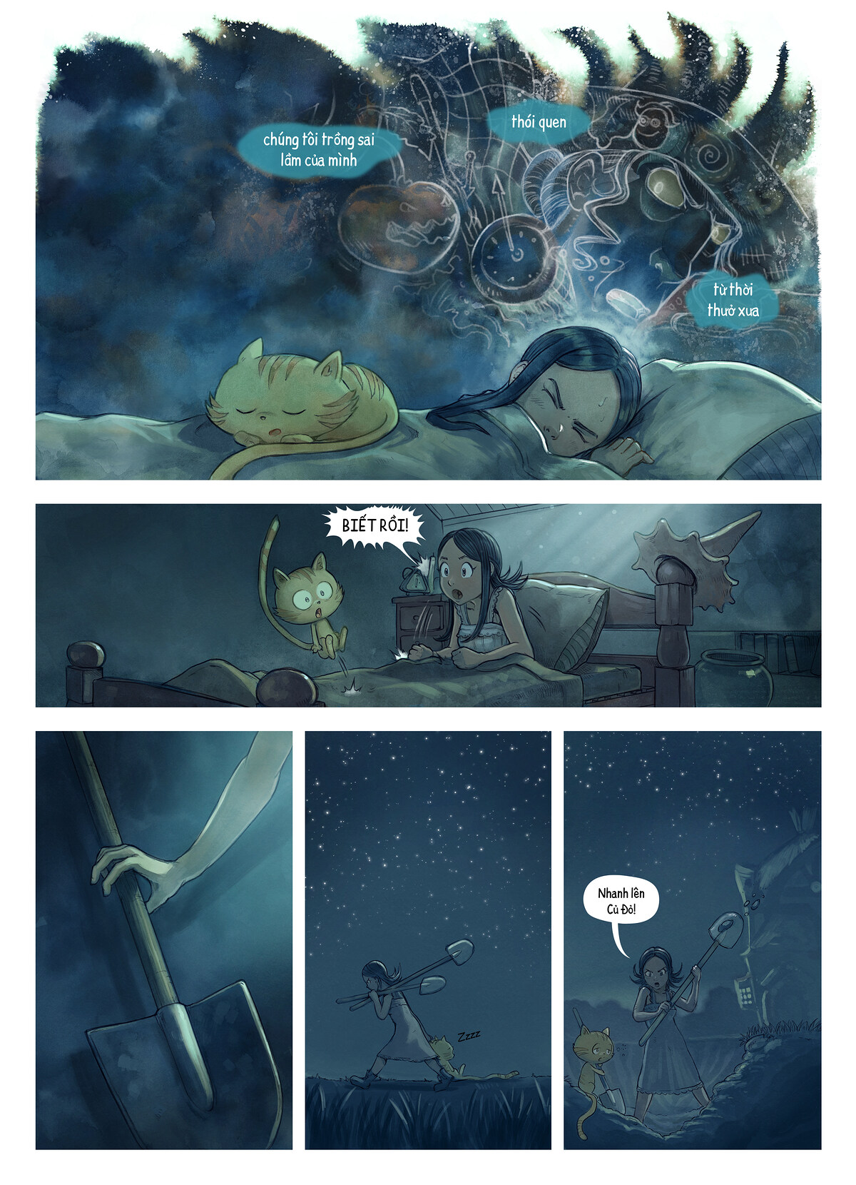A webcomic page of Pepper&Carrot, Tập 19 [vi], trang 3