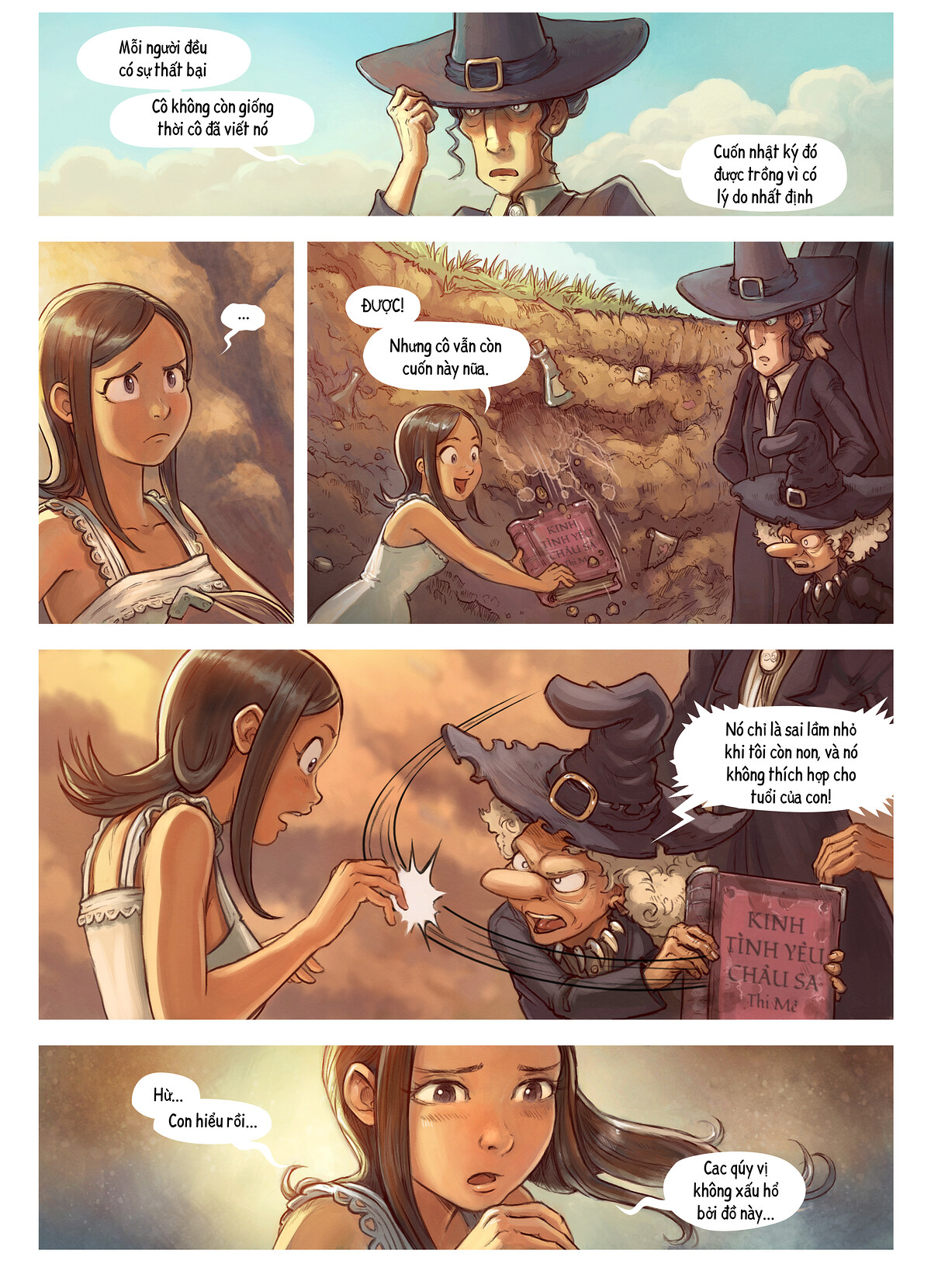 A webcomic page of Pepper&Carrot, Tập 19 [vi], trang 5