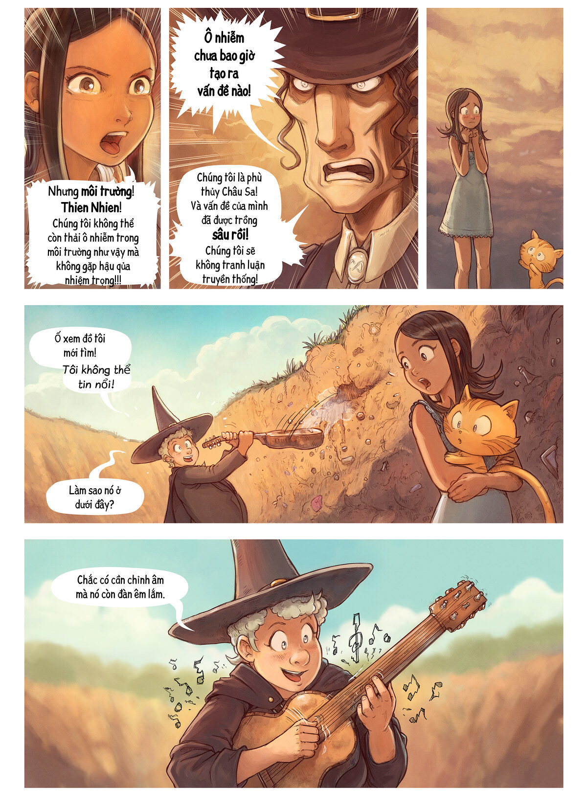 A webcomic page of Pepper&Carrot, Tập 19 [vi], trang 6