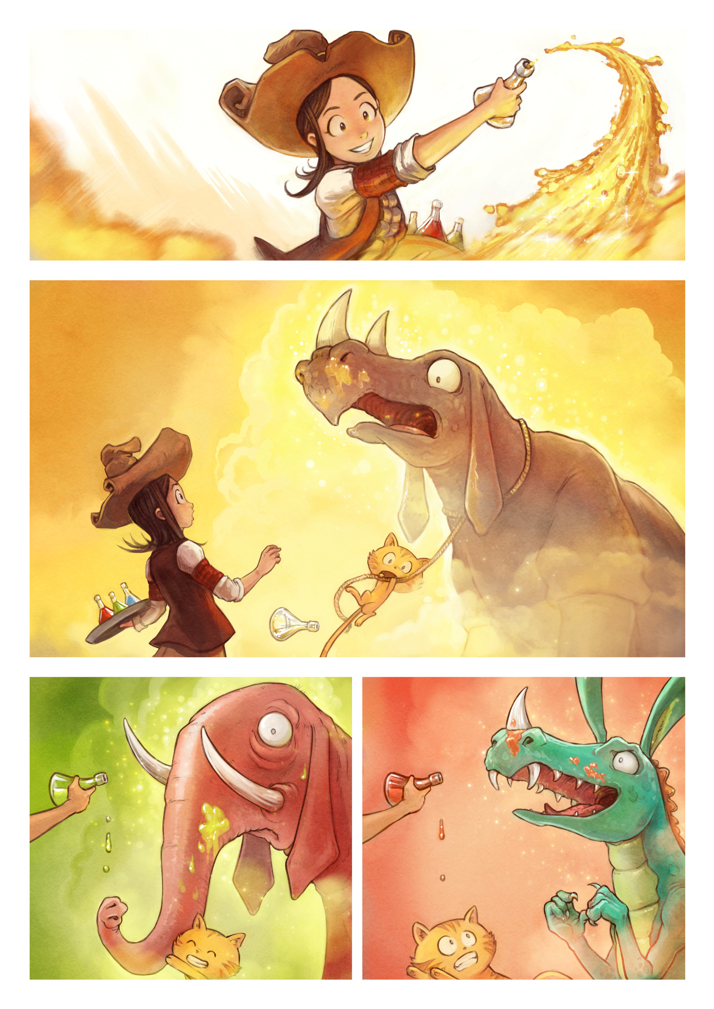 A webcomic page of Pepper&Carrot, aflevering 20 [nl], pagina 4