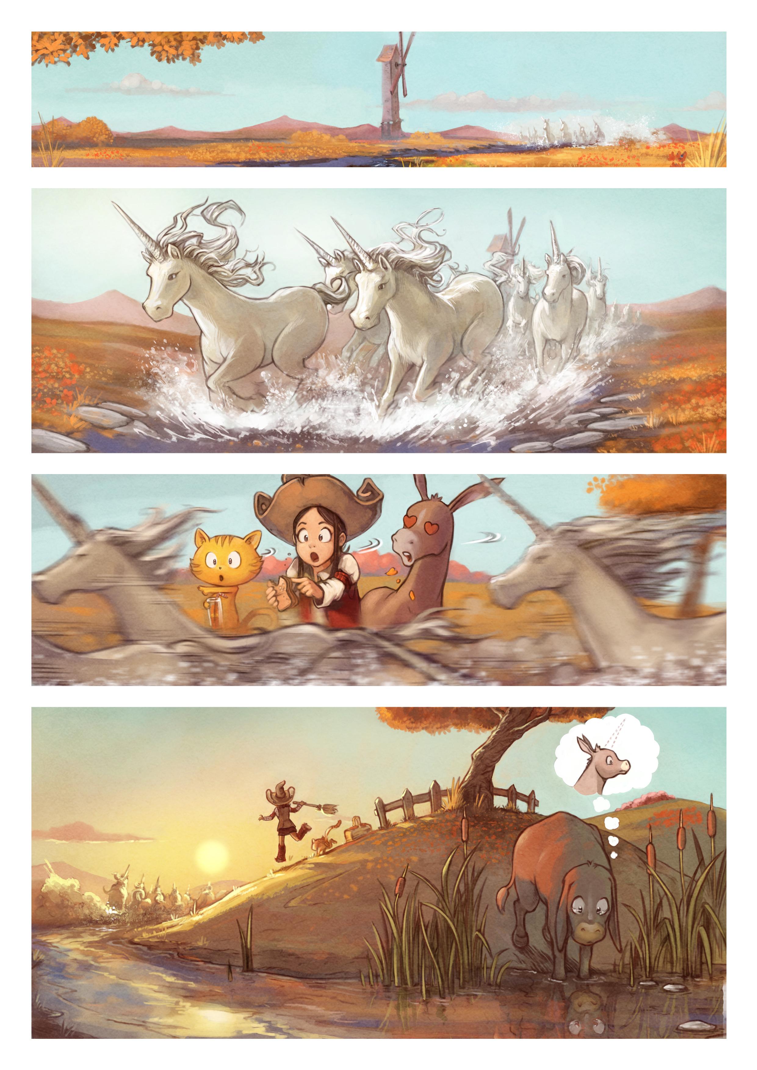 A webcomic page of Pepper&Carrot, episódio 20 [pt], página 2