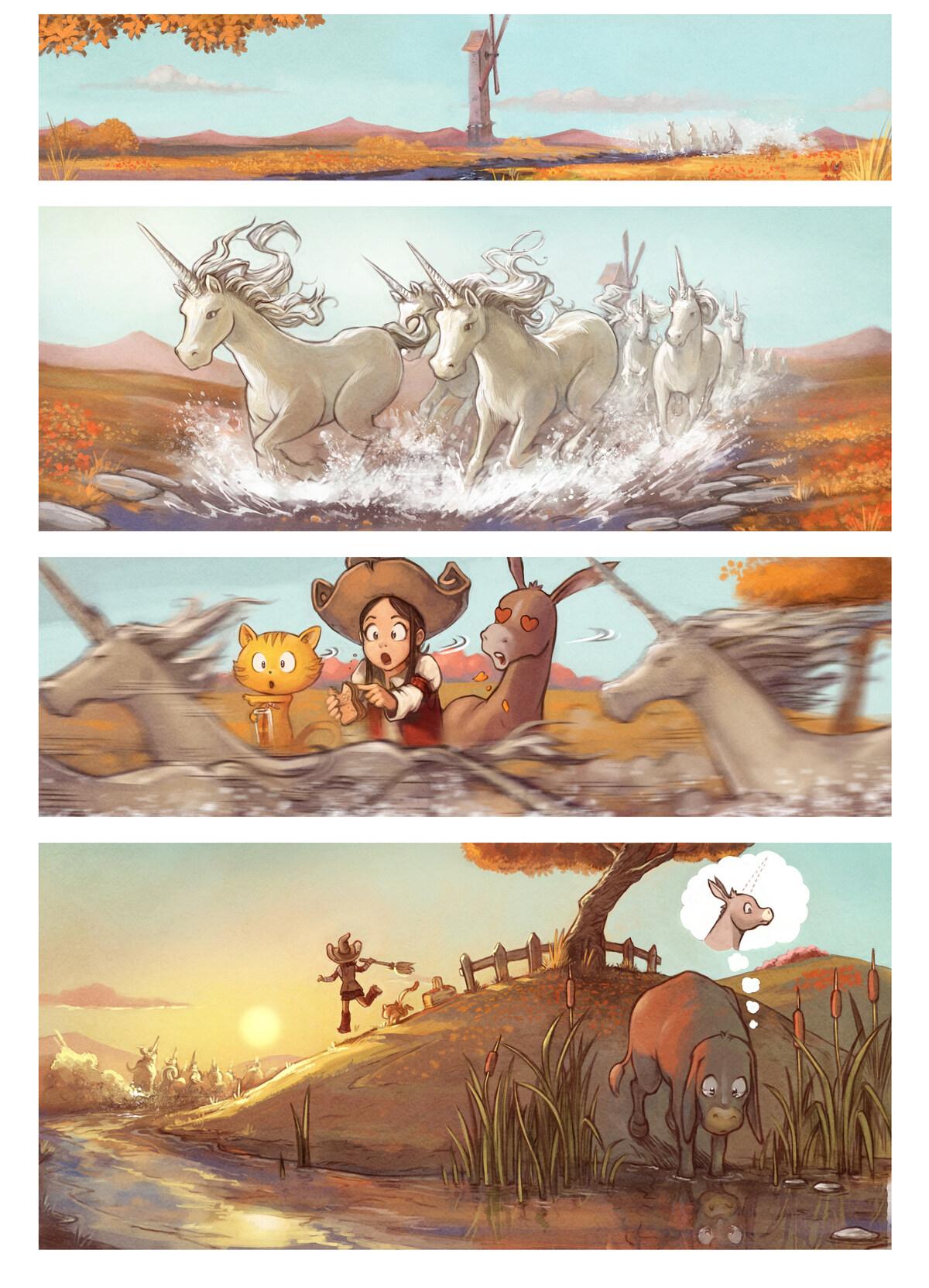 A webcomic page of Pepper&Carrot, pagbu 20 [jb], papri 2