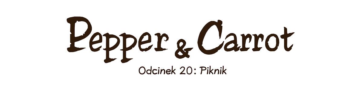 A webcomic page of Pepper&Carrot, odcinek 20 [pl], strona 0