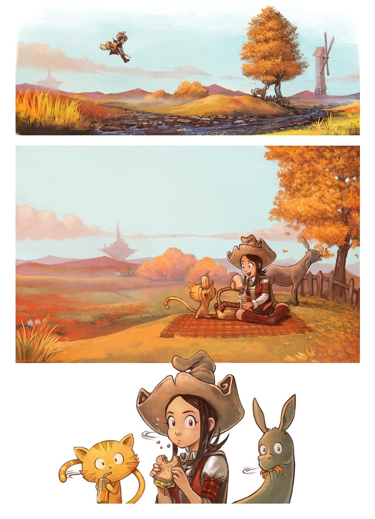 Epizoda 20: Piknik, Page 1