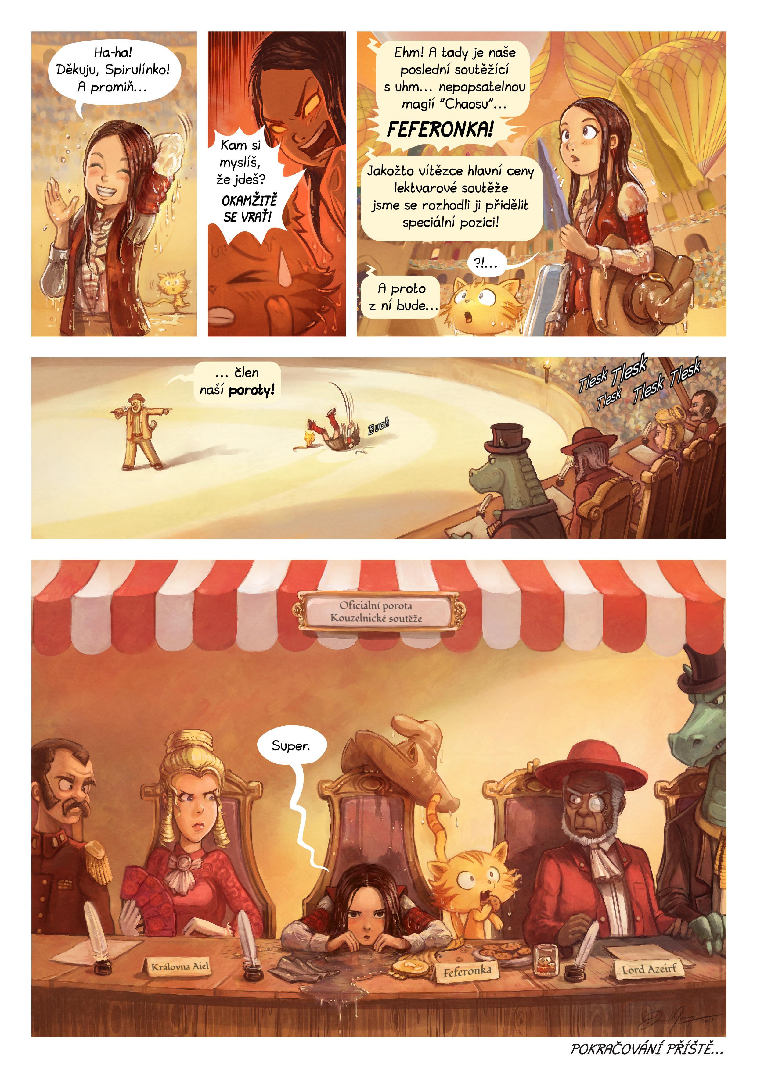 21. díl: Kouzelnická soutěž, Page 7