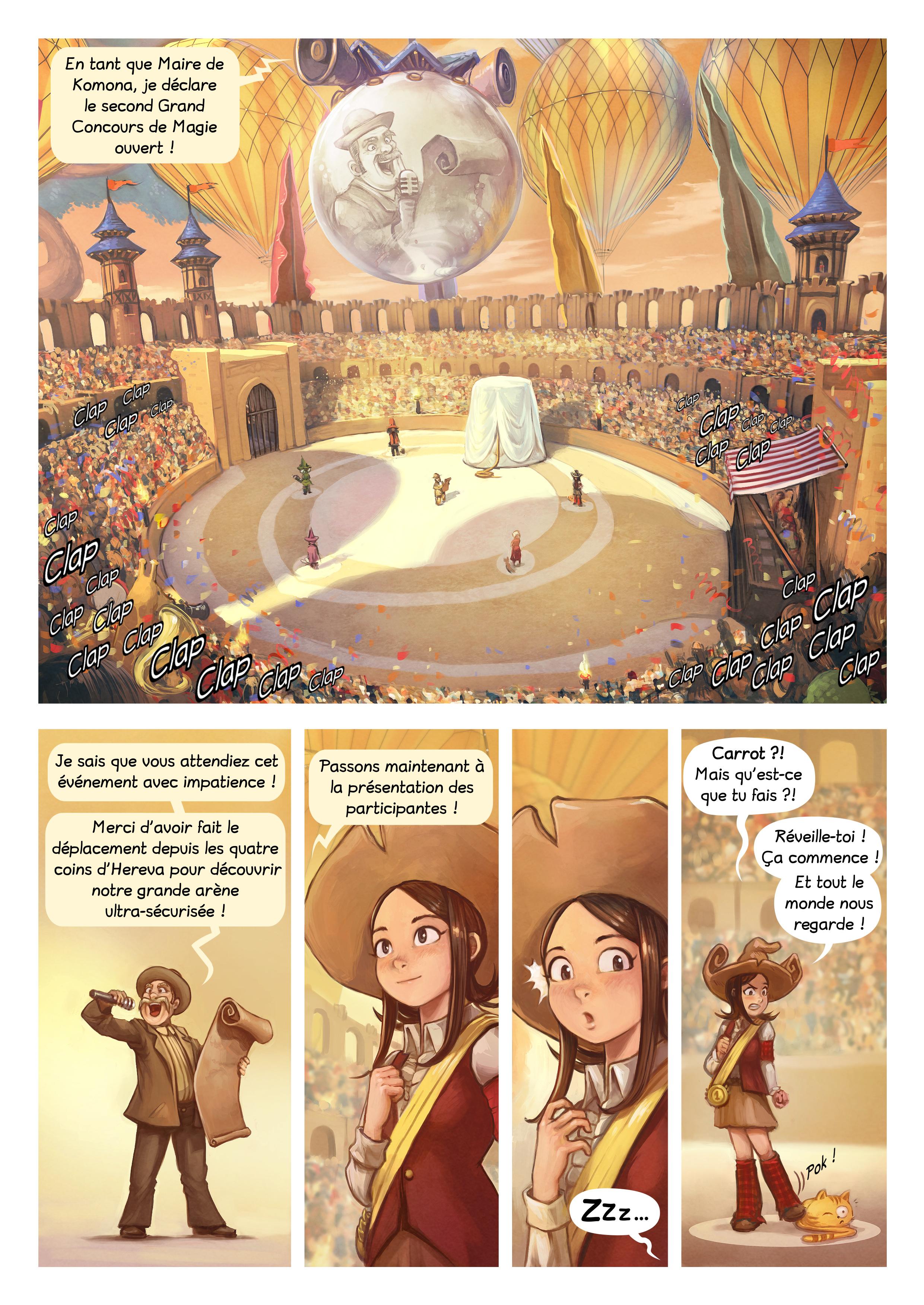 A webcomic page of Pepper&Carrot, épisode 21 [fr], page 3
