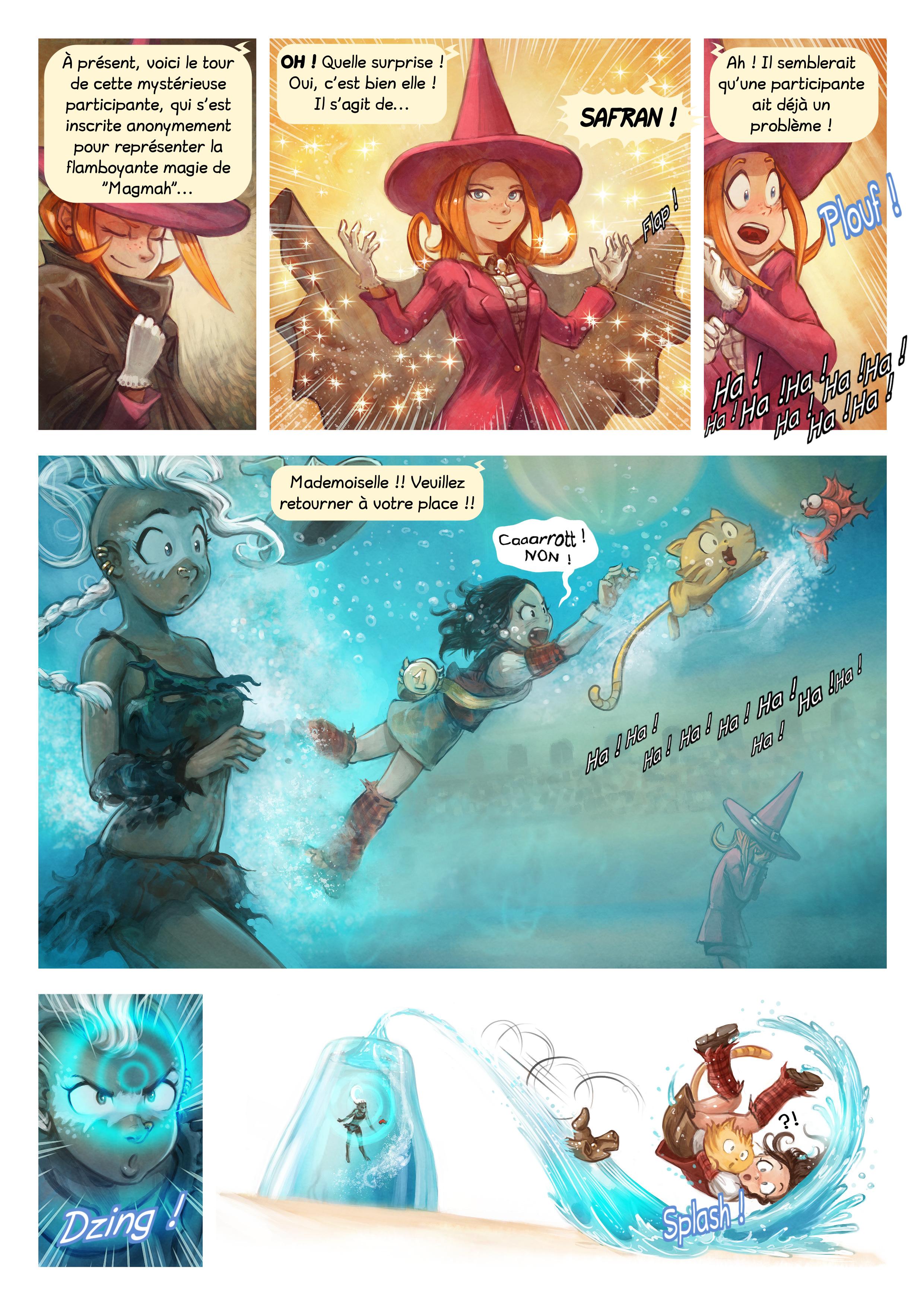 A webcomic page of Pepper&Carrot, épisode 21 [fr], page 6