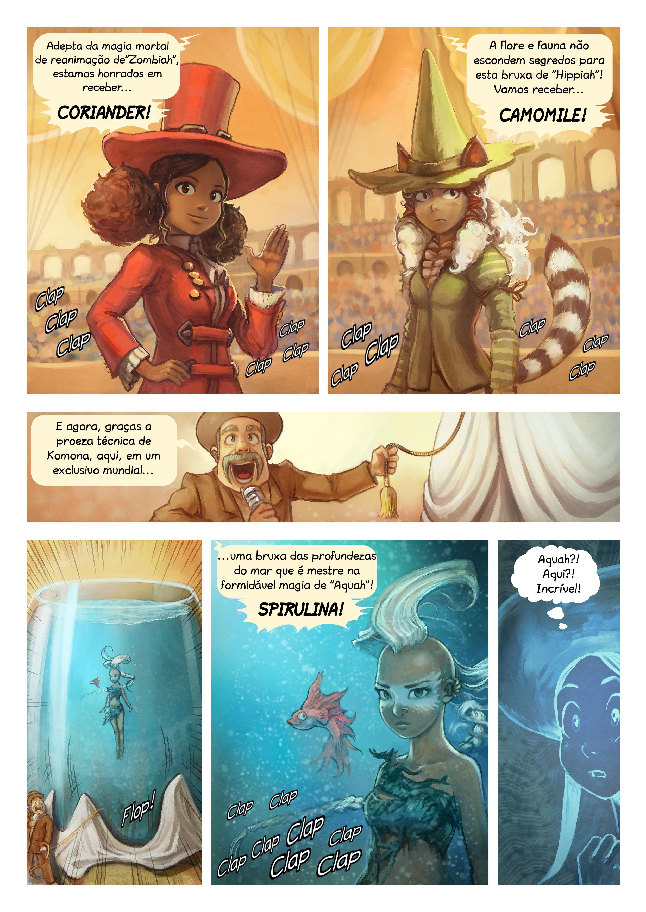A webcomic page of Pepper&Carrot, episódio 21 [pt], página 4